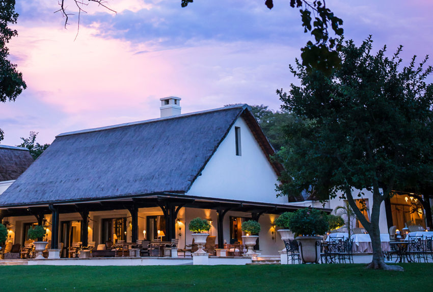 Royal Livingstone, Zambia, Exterior Lounge