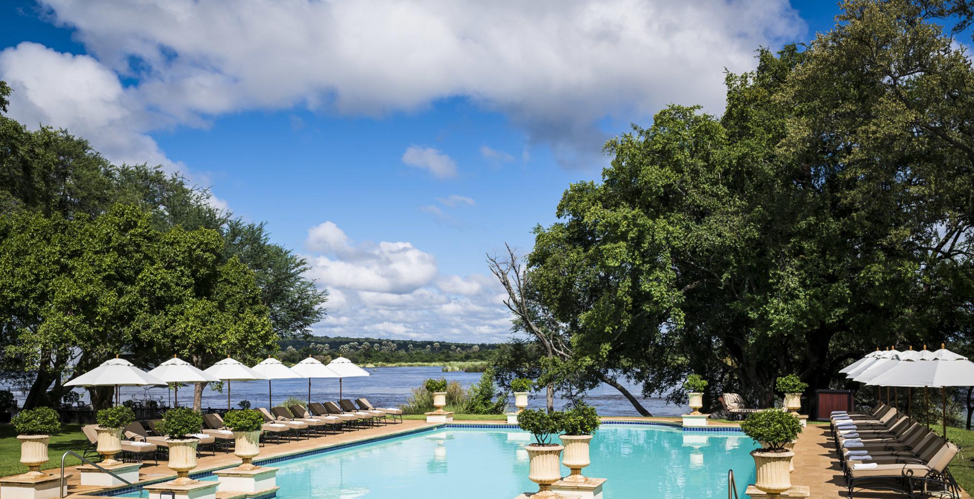 Royal Livingstone, Zambia, Pool