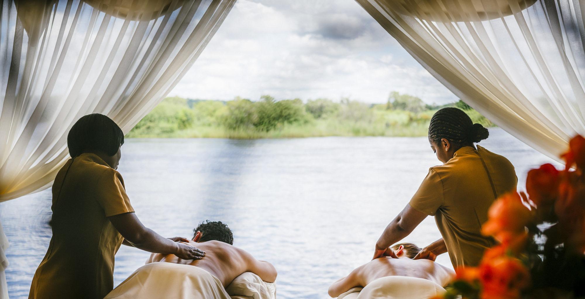 Royal Livingstone, Zambia, Massage