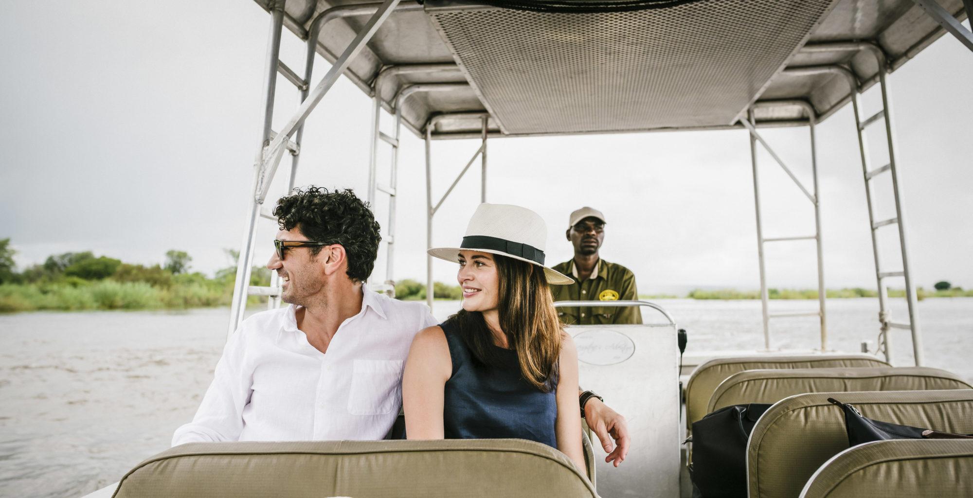 Royal Livingstone, Zambia, Water Taxi