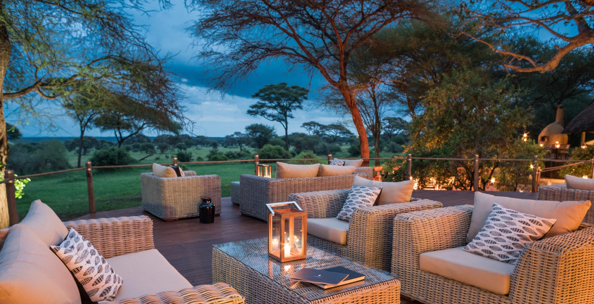 Swala Camp Tanzania Exterior Lounge