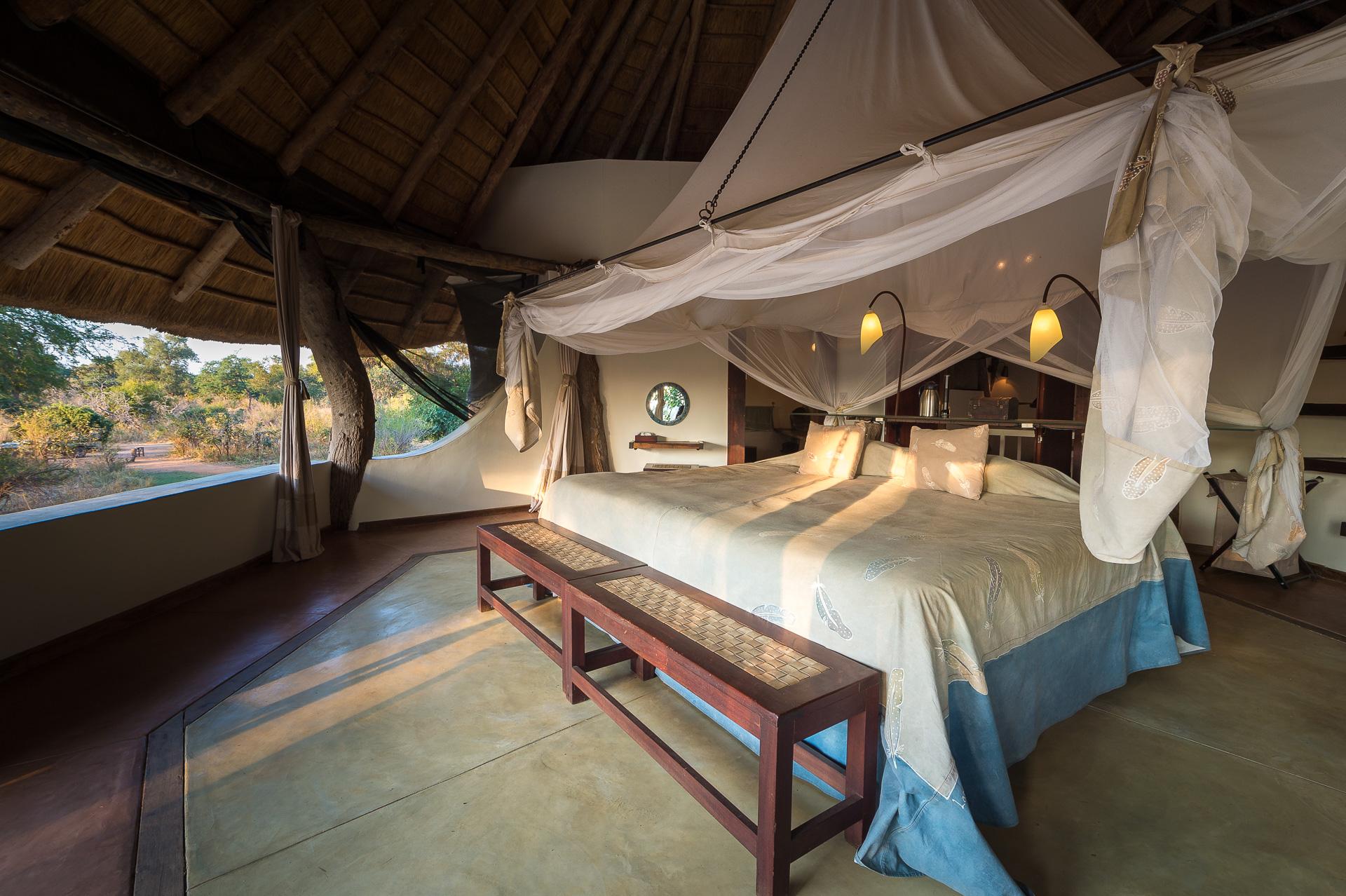 Luanga Safari House Zambia Exterior Bedroom