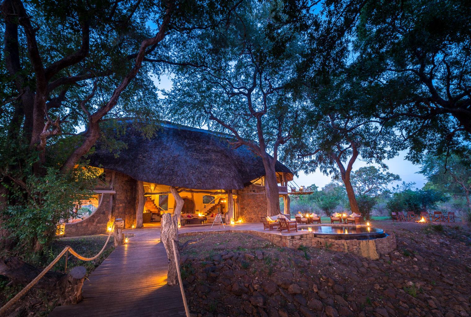Luanga Safari House Zambia Exterior