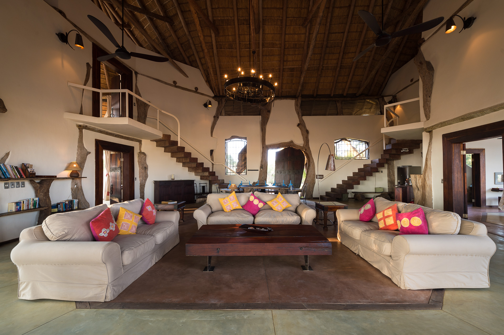 Luanga Safari House Zambia Lounge