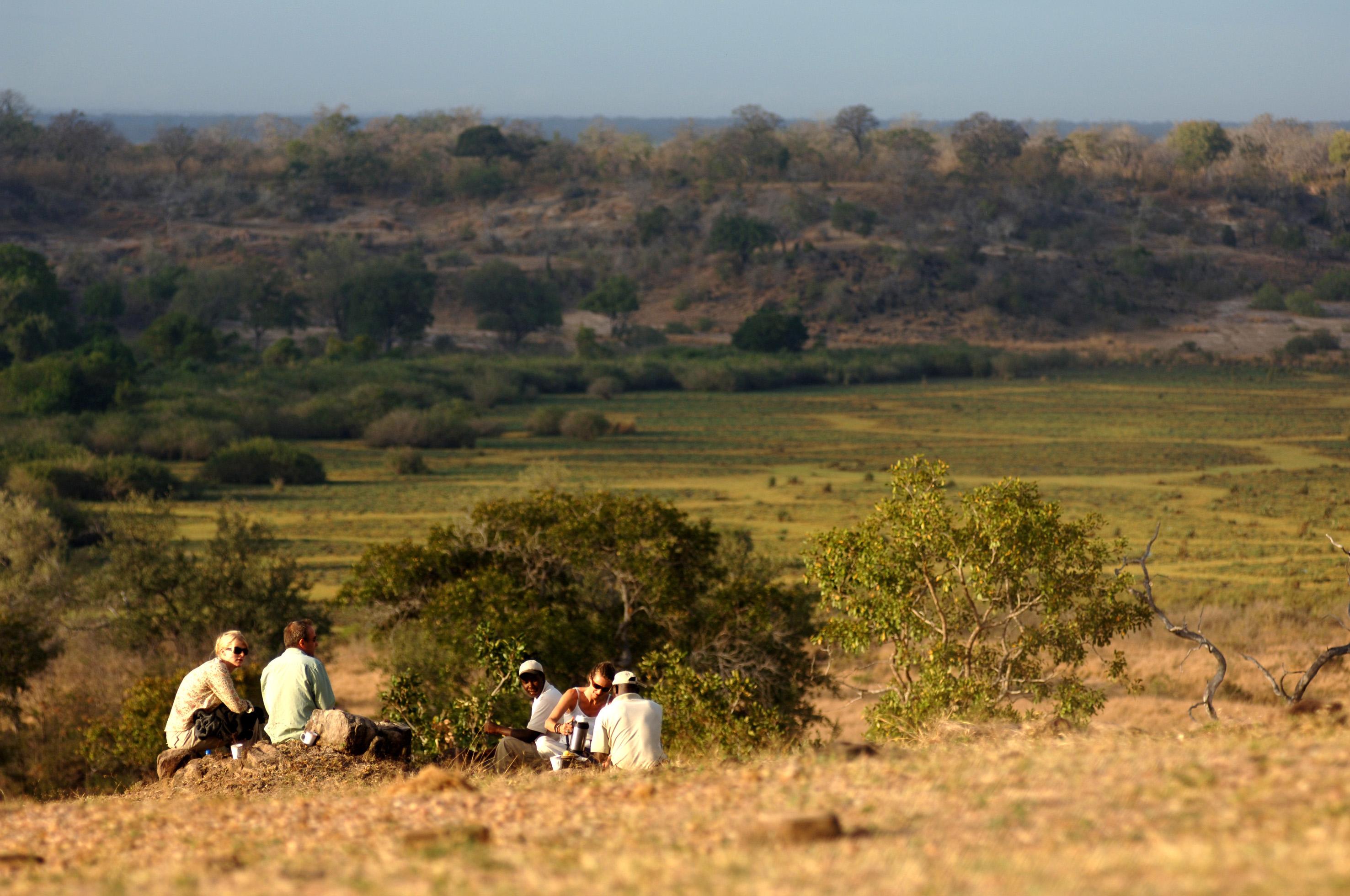 Selous Walking Safari Tanzania Walking