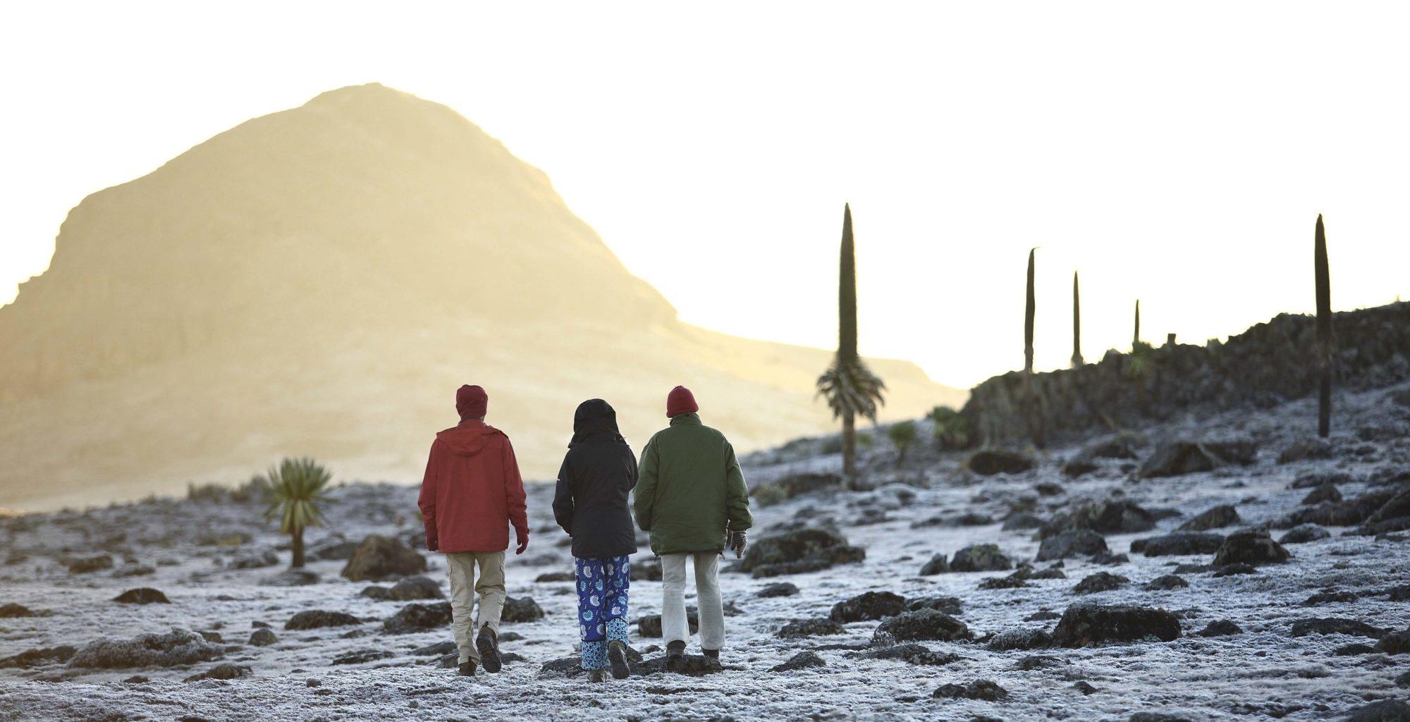 Bale Mountain Lodge Ethiopia Walk