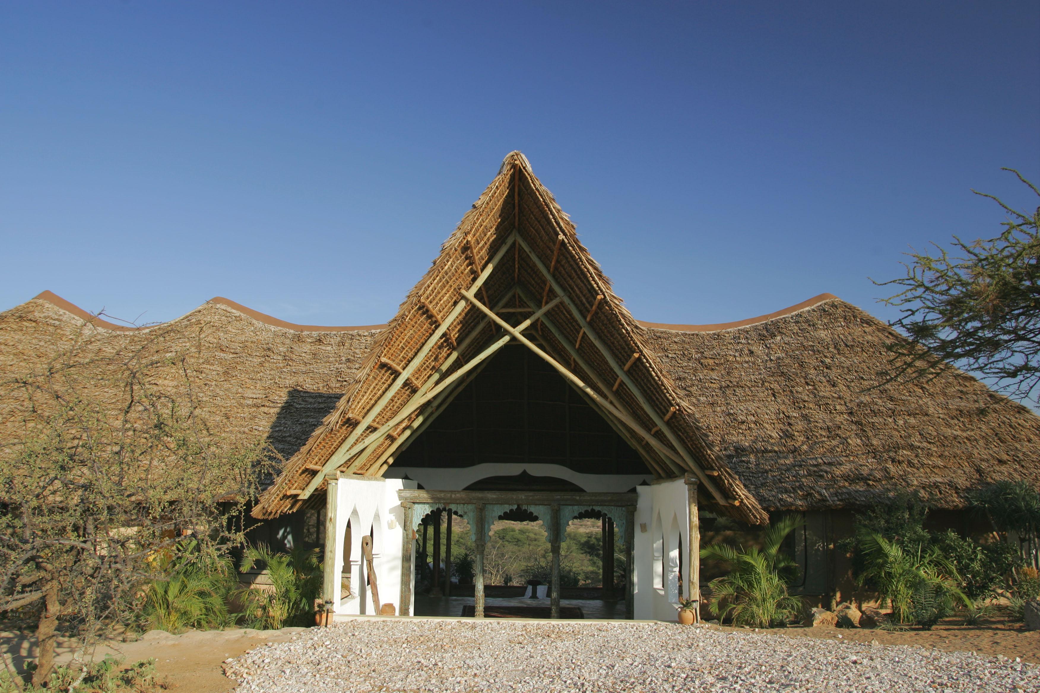 Sasaab Kenya Entrance