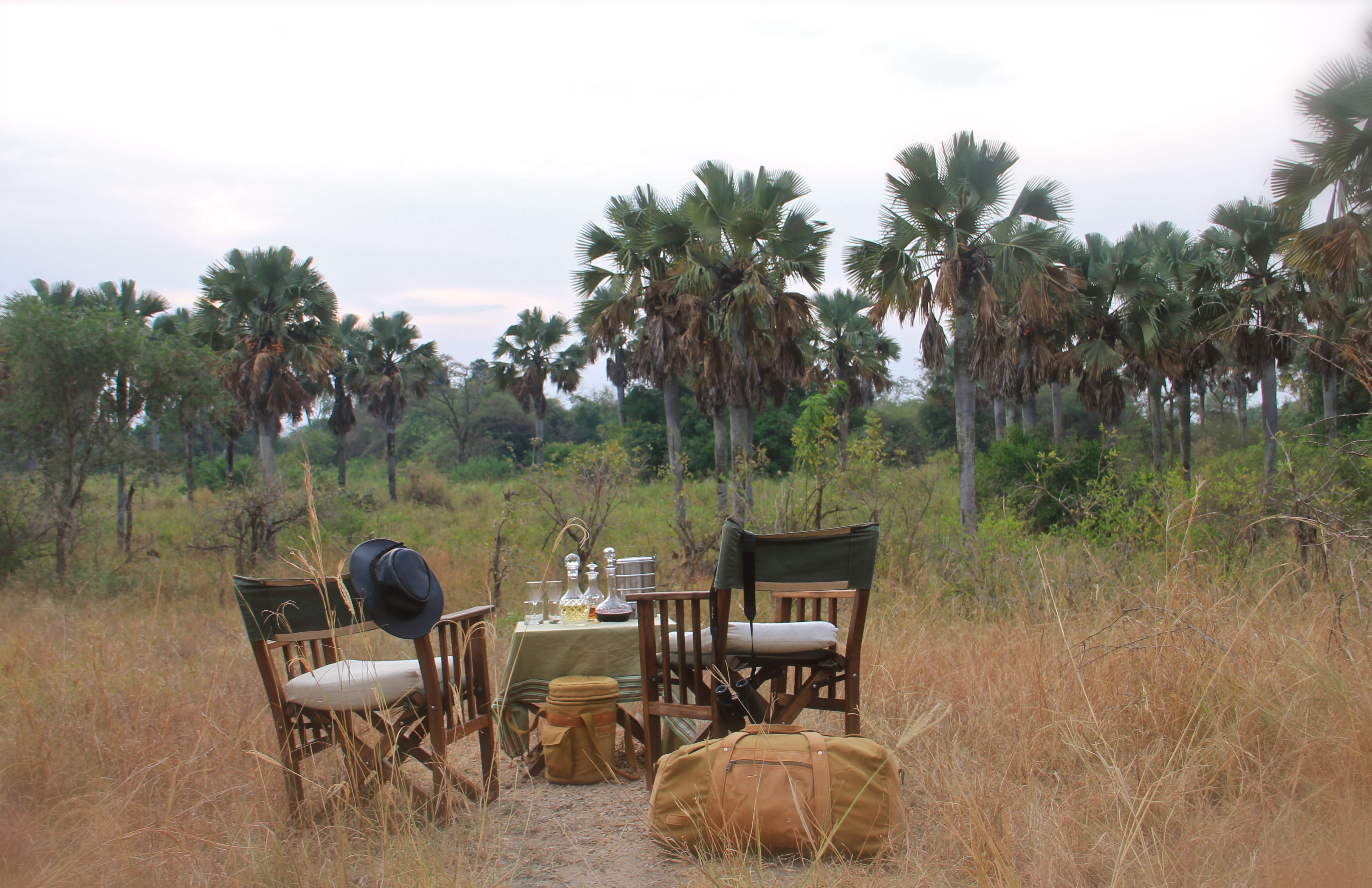 Semliki Safari Lodge Uganda Dining Outside