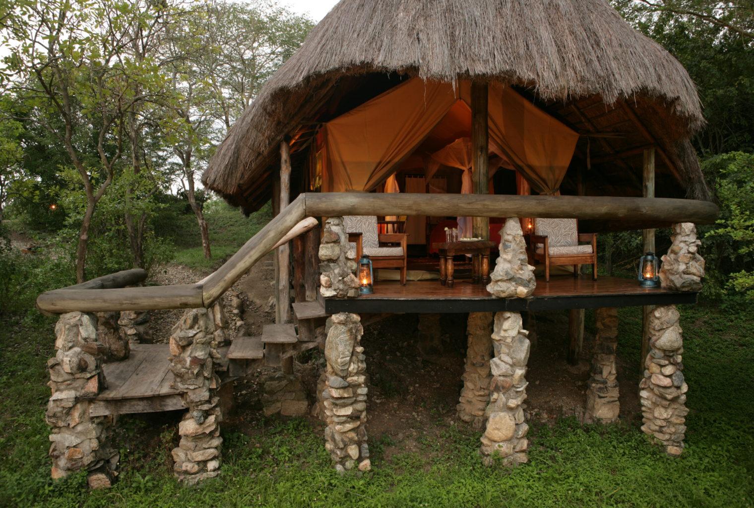 Semliki Safari Lodge Uganda Exterior
