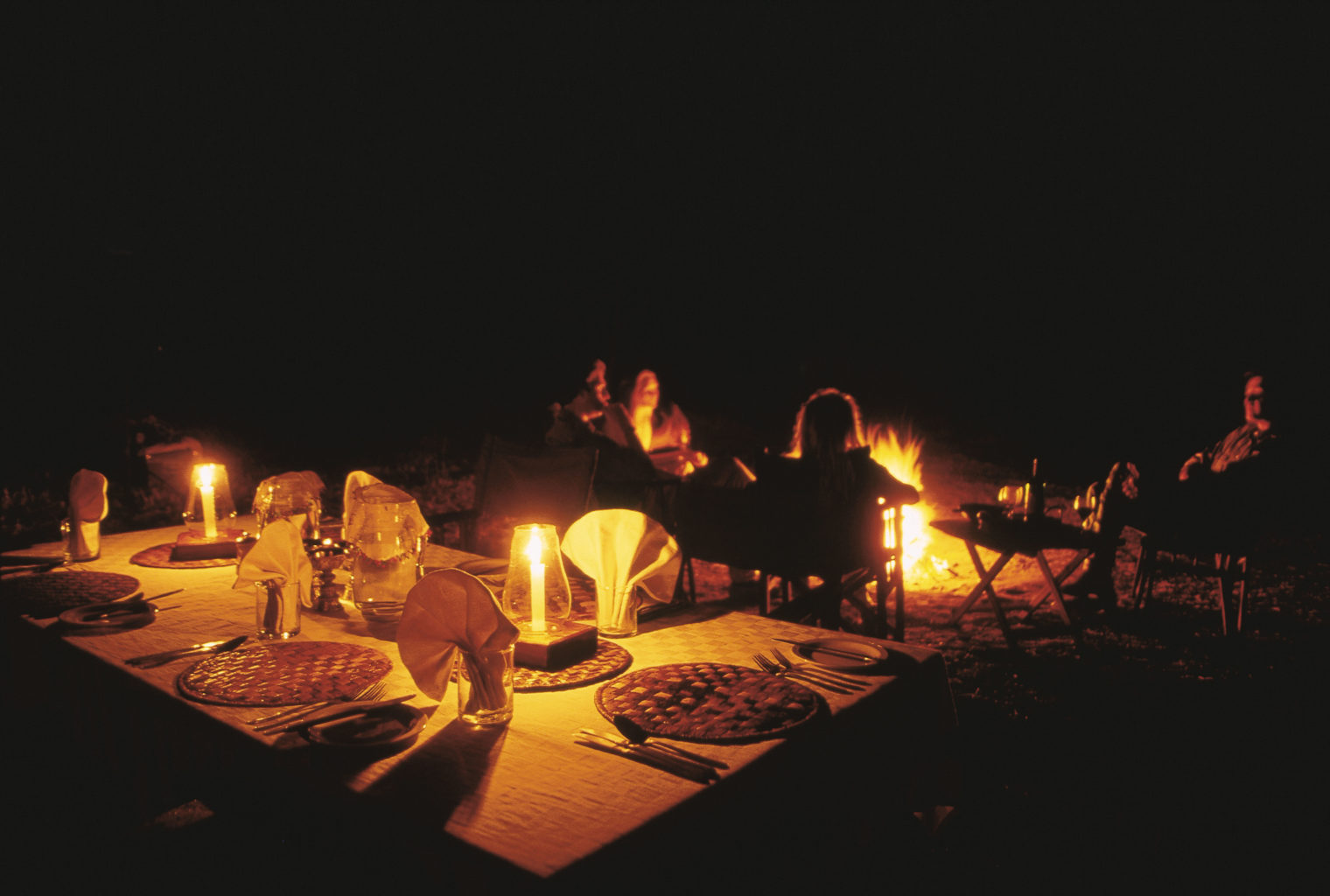 Private Mobile Camping Tanzania Dining