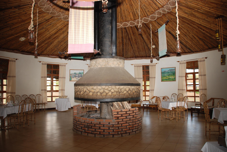 Simien Lodge Ehtiopia Living Room