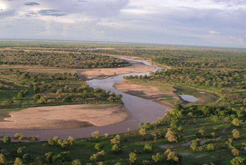Tafika-camp--Zambia-aerial