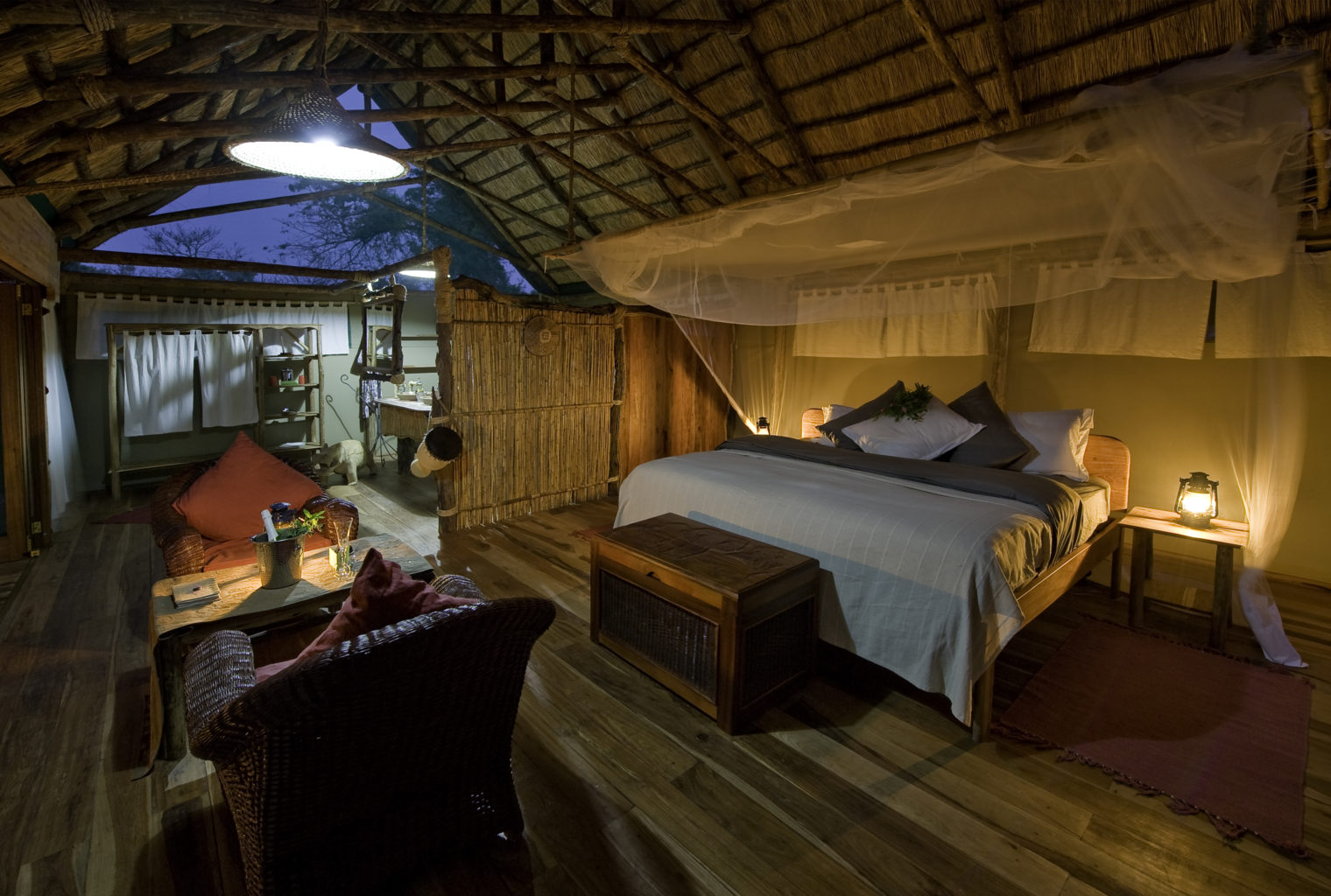 Mvuu Lodge Malawi Tent interior
