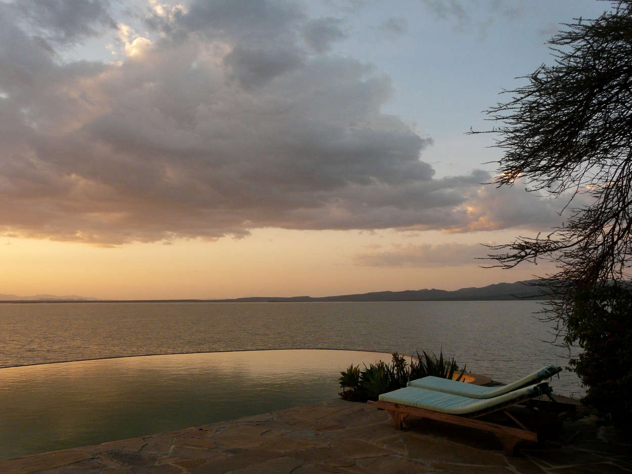 Samatian Island Lodge Kenya Views
