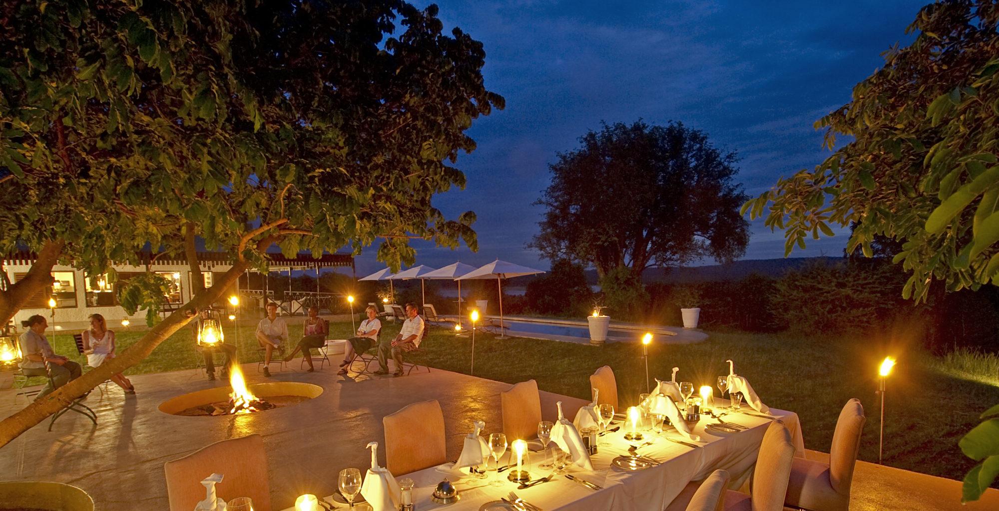Chichele Pres Zambia Dining