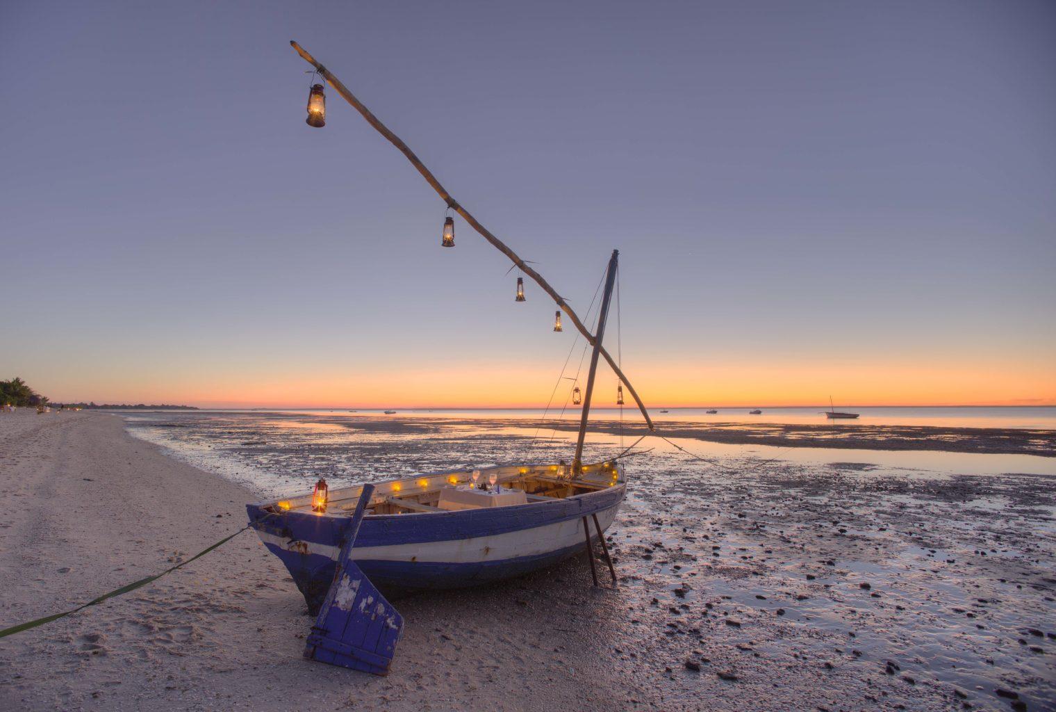 Azura Benguerra Mozambique Boat