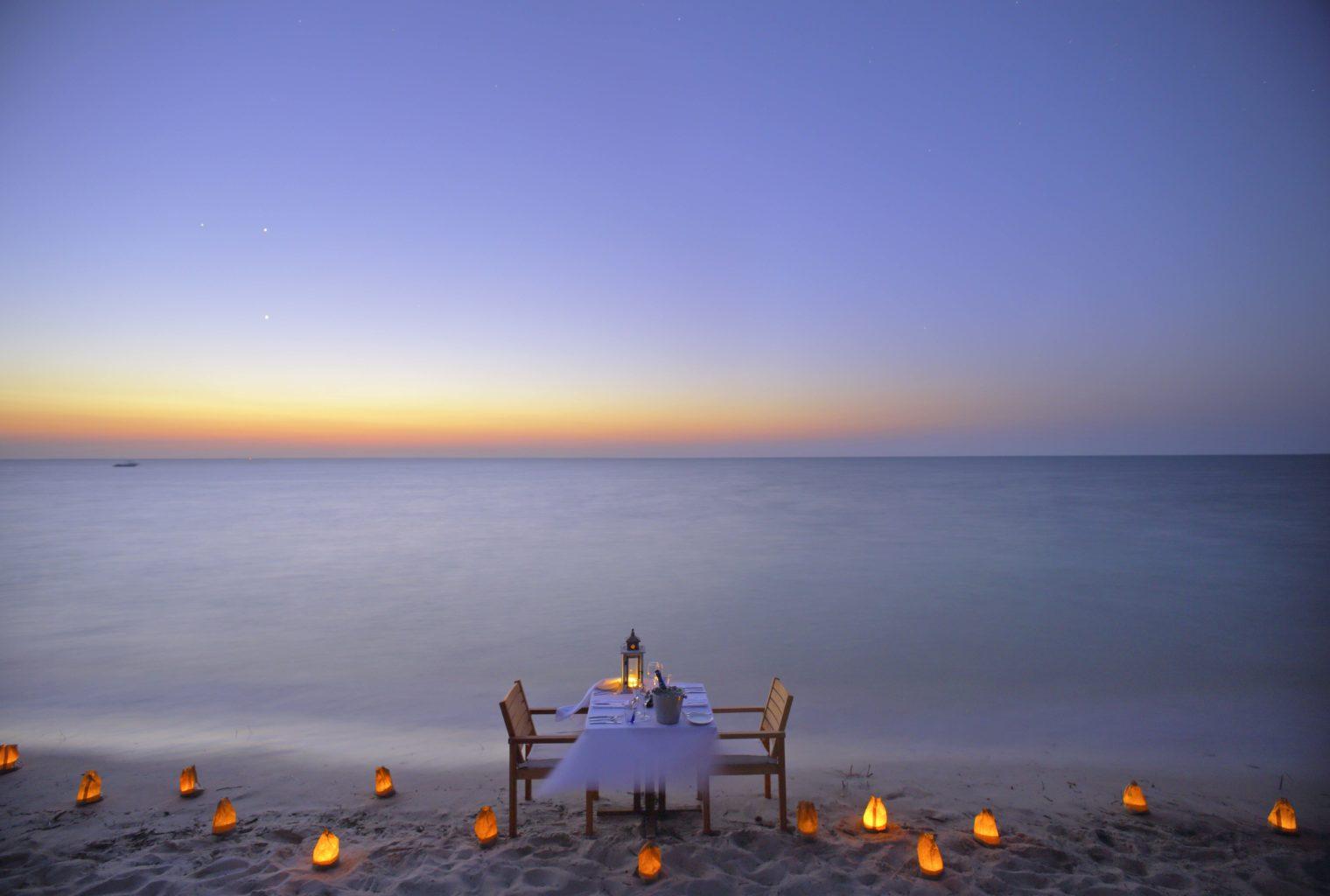 Azura Benguerra Mozambique Beach Dining