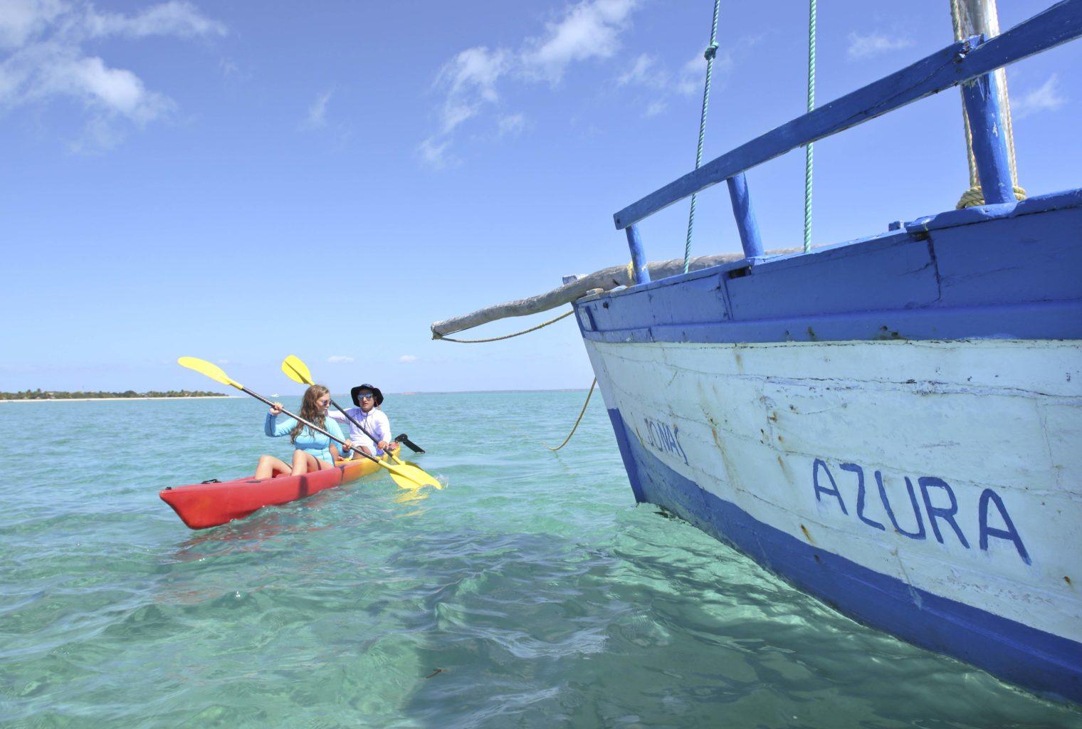 Azura Benguerra Mozambique Kayak