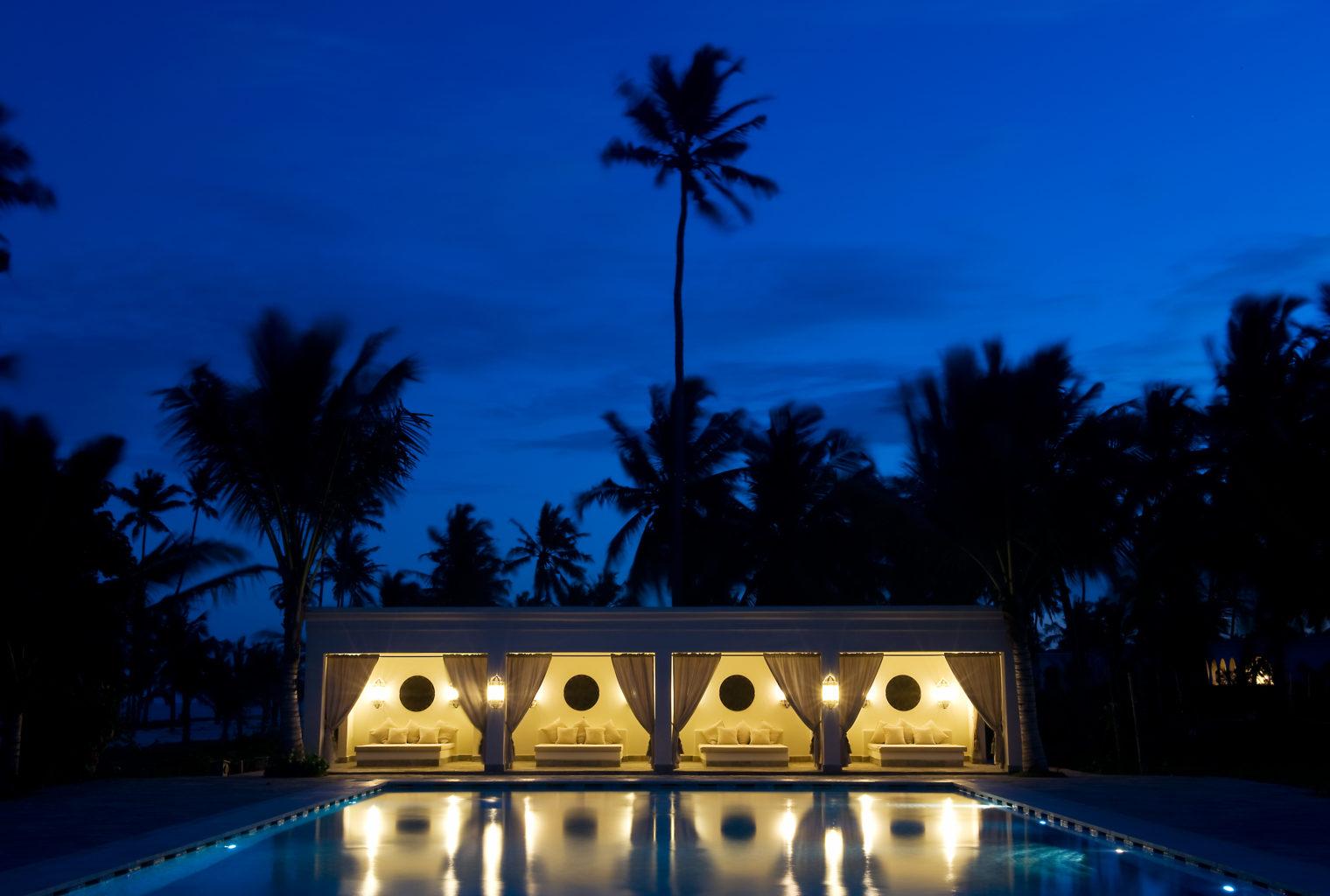 Baraza Resort and Spa Tanzania Exterior Night