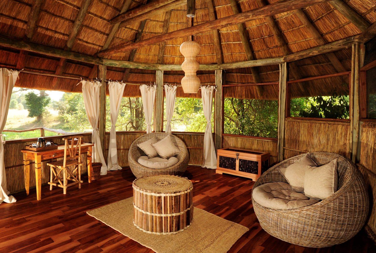 Bilimungwe Camp Zambia Lounge