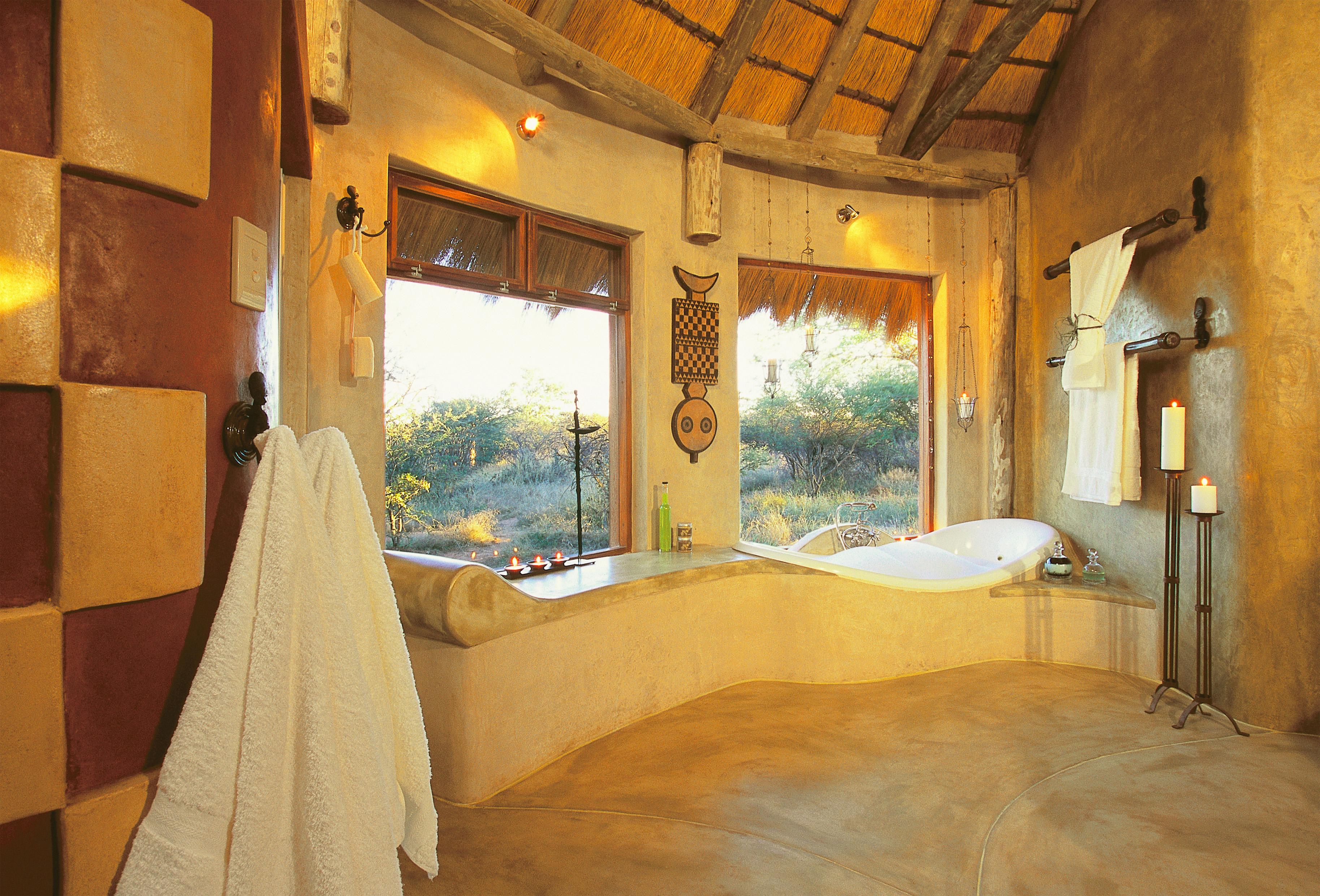 Okonjima Bush Suite Namibia Bathroom