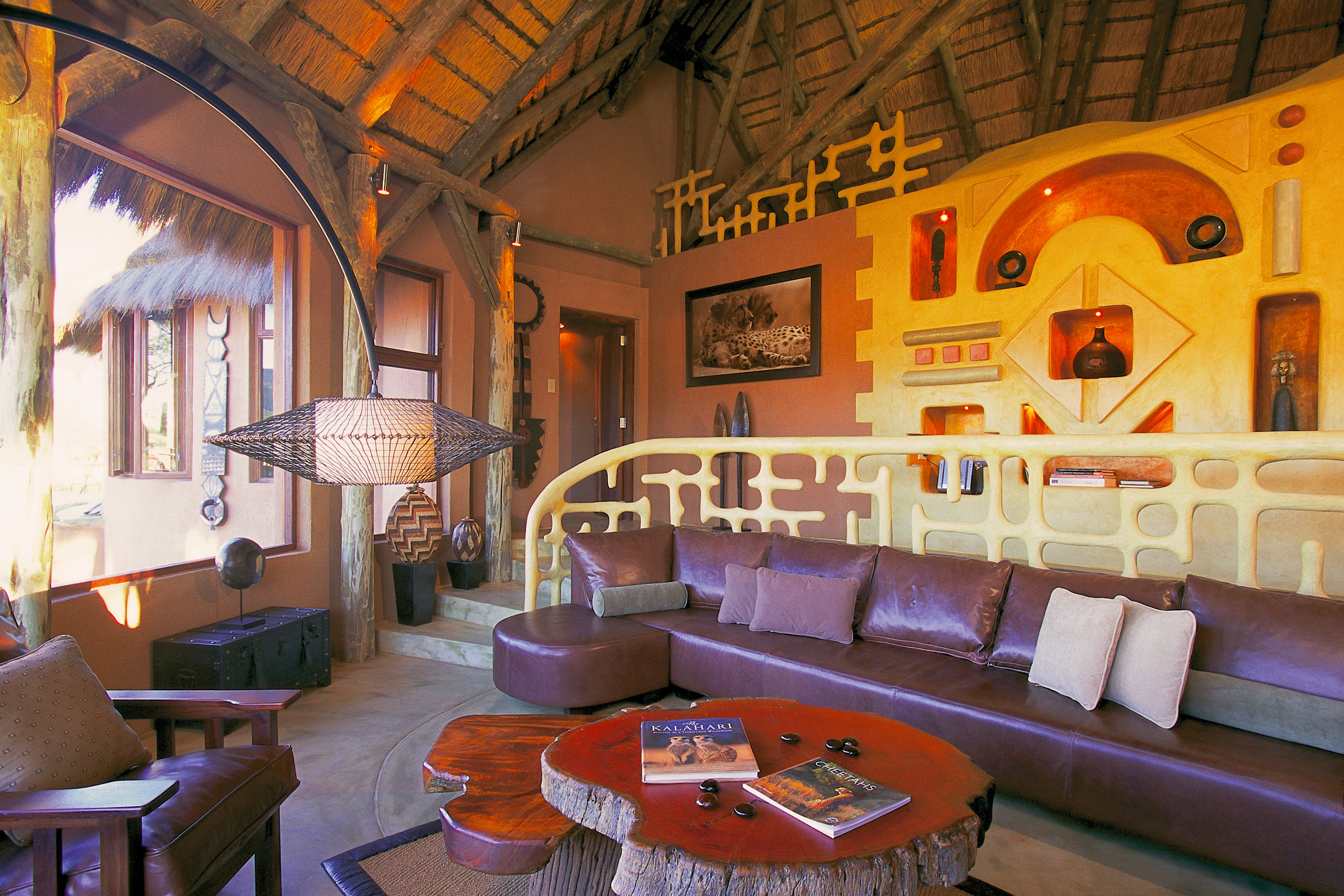 Okonjima Bush Suite Namibia Exterior Lounge