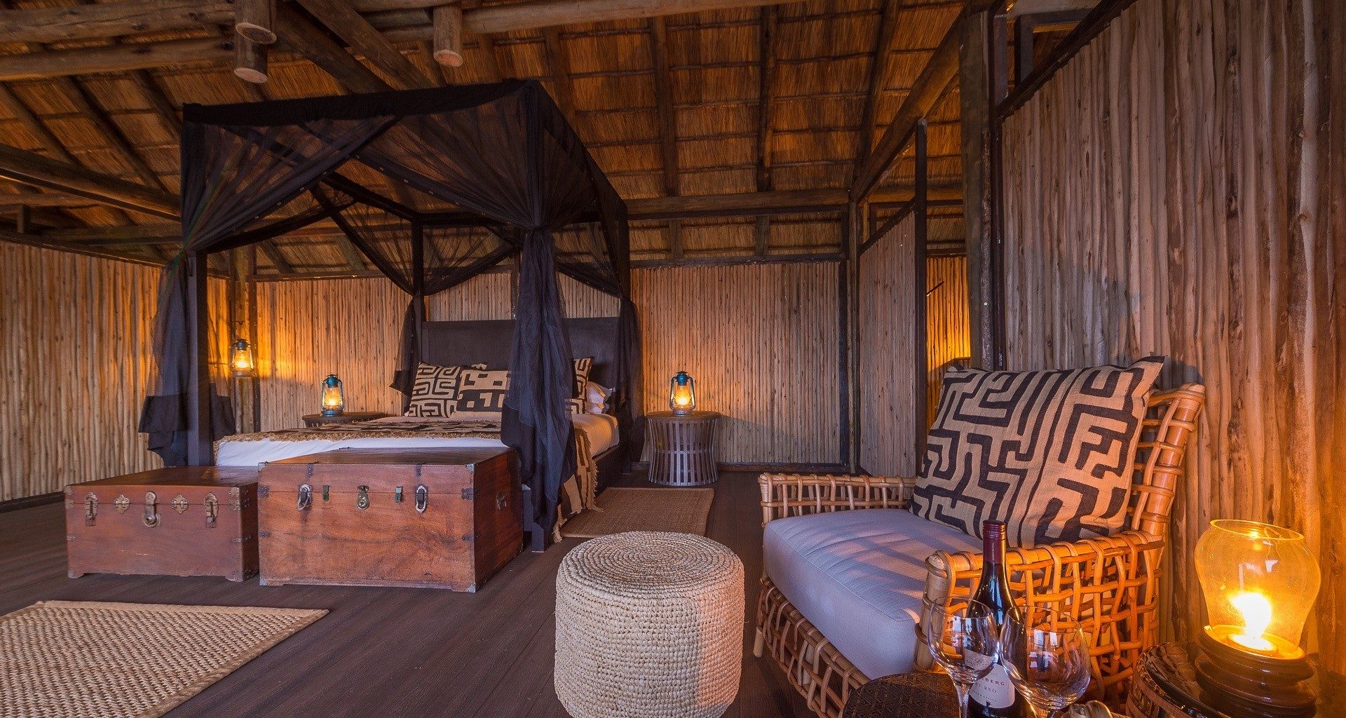 Chamilandu Camp Zambia Lounge