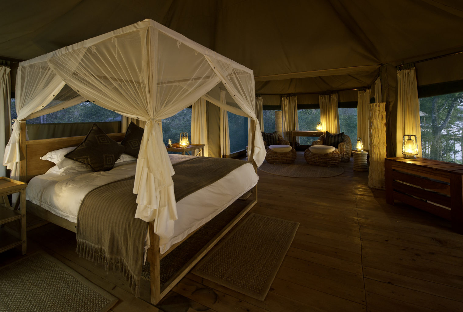 Chindeni Camp Zambia Bedroom