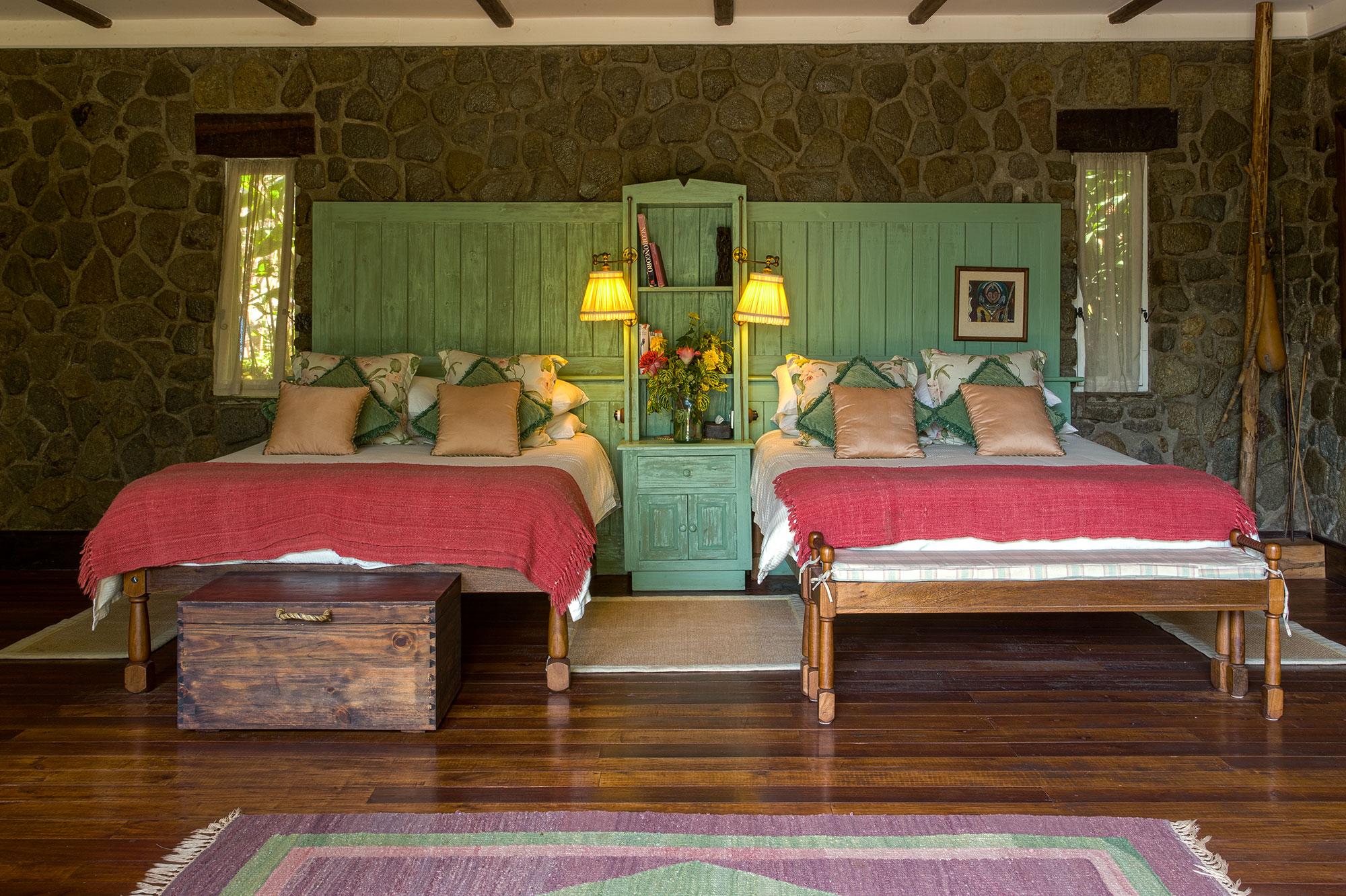 Gibbs Farm Tanzania Bed