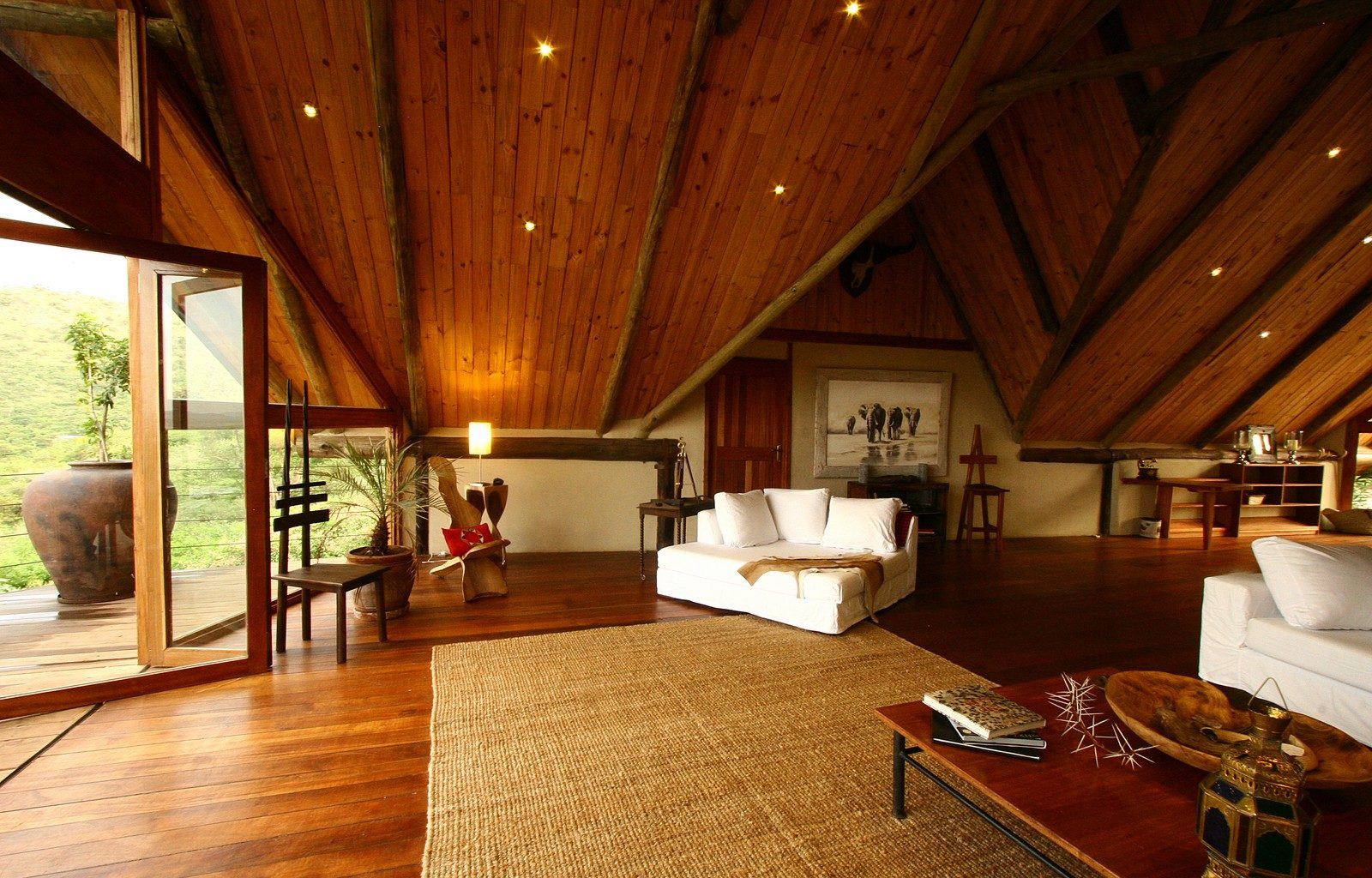 Cottars Private House Kenya- Viewing Room