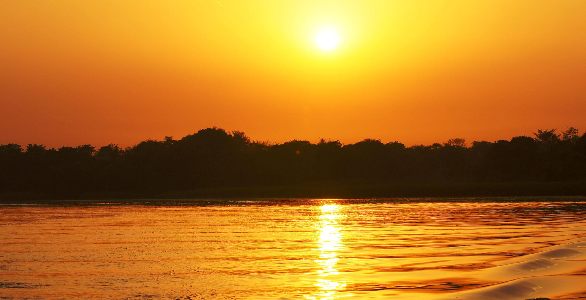 Uganda-Murchison-Falls-Sunset