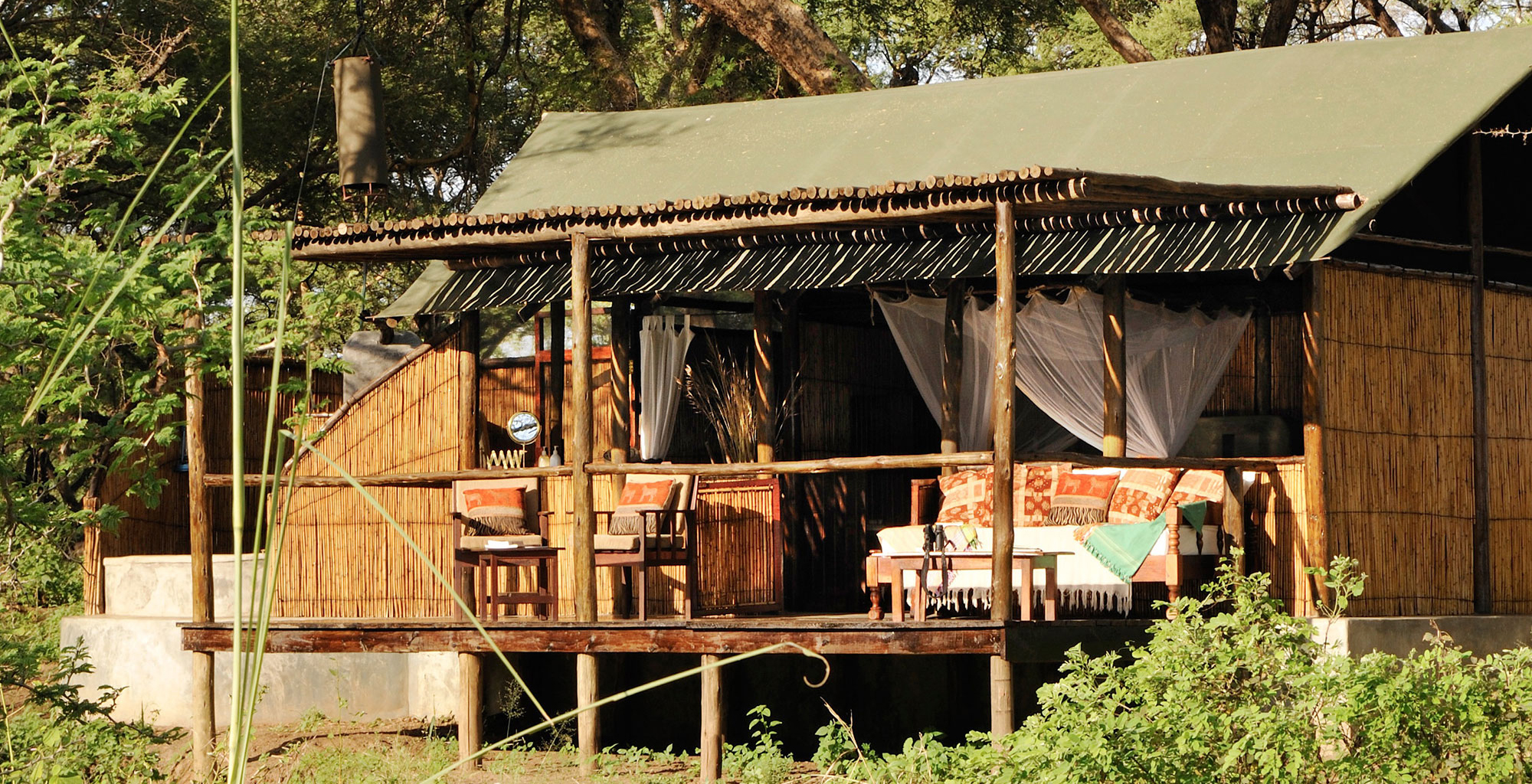 Old Mondoro Bush Camp In Lower Zambezi Zambia Journeys