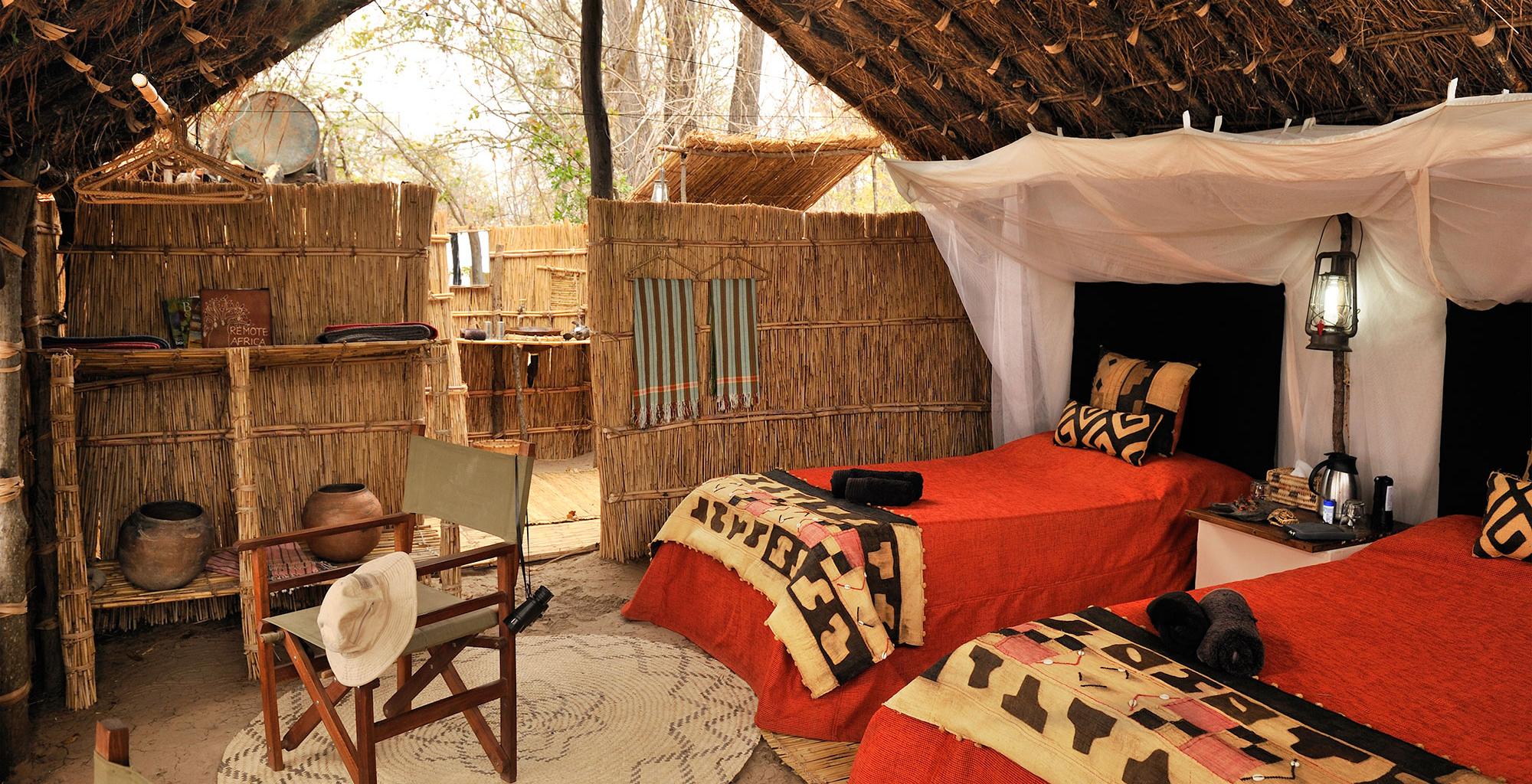 Zambia-Mwaleshi-Camp-Twin-Room