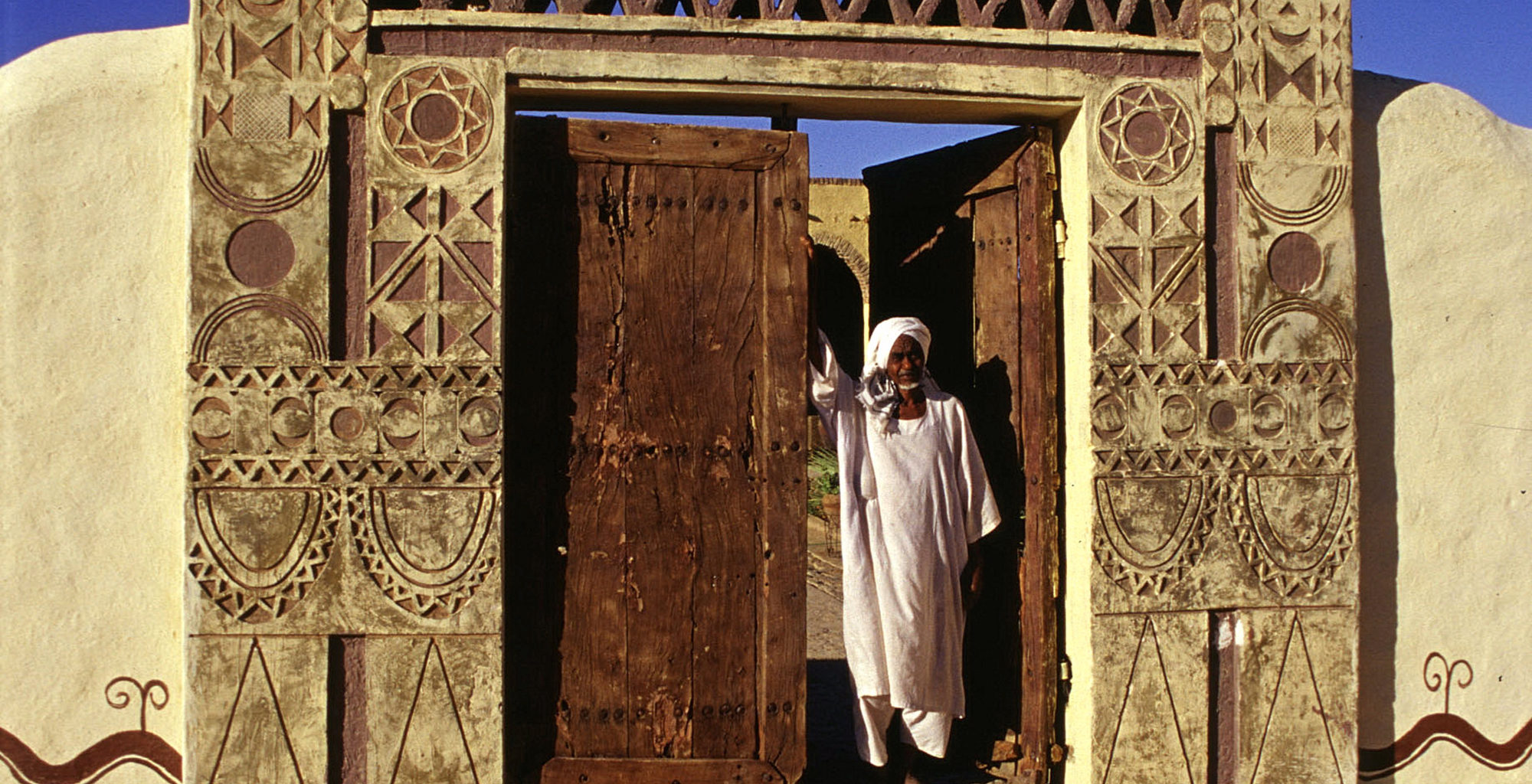 Sudan-Nubian-Rest-House-Entrance