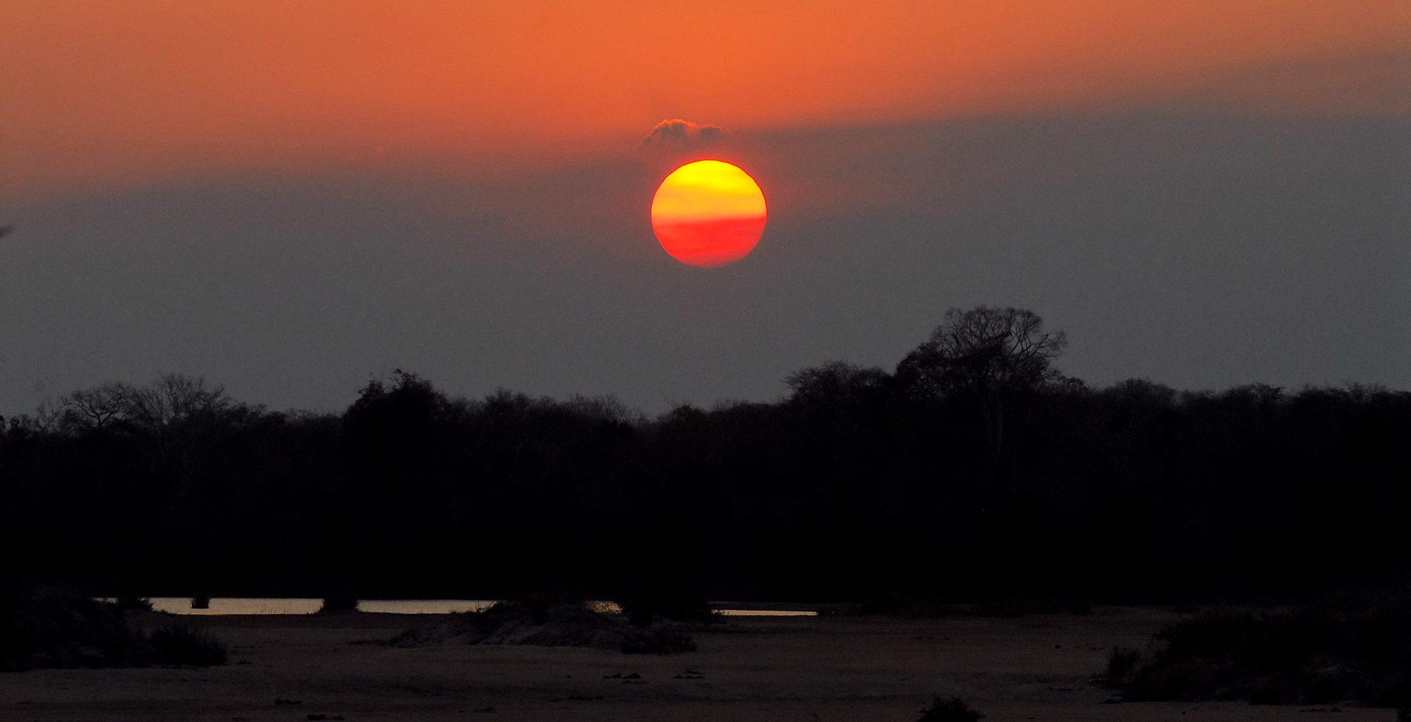 Mozambique-Niassa-National-Reserve-Sunset