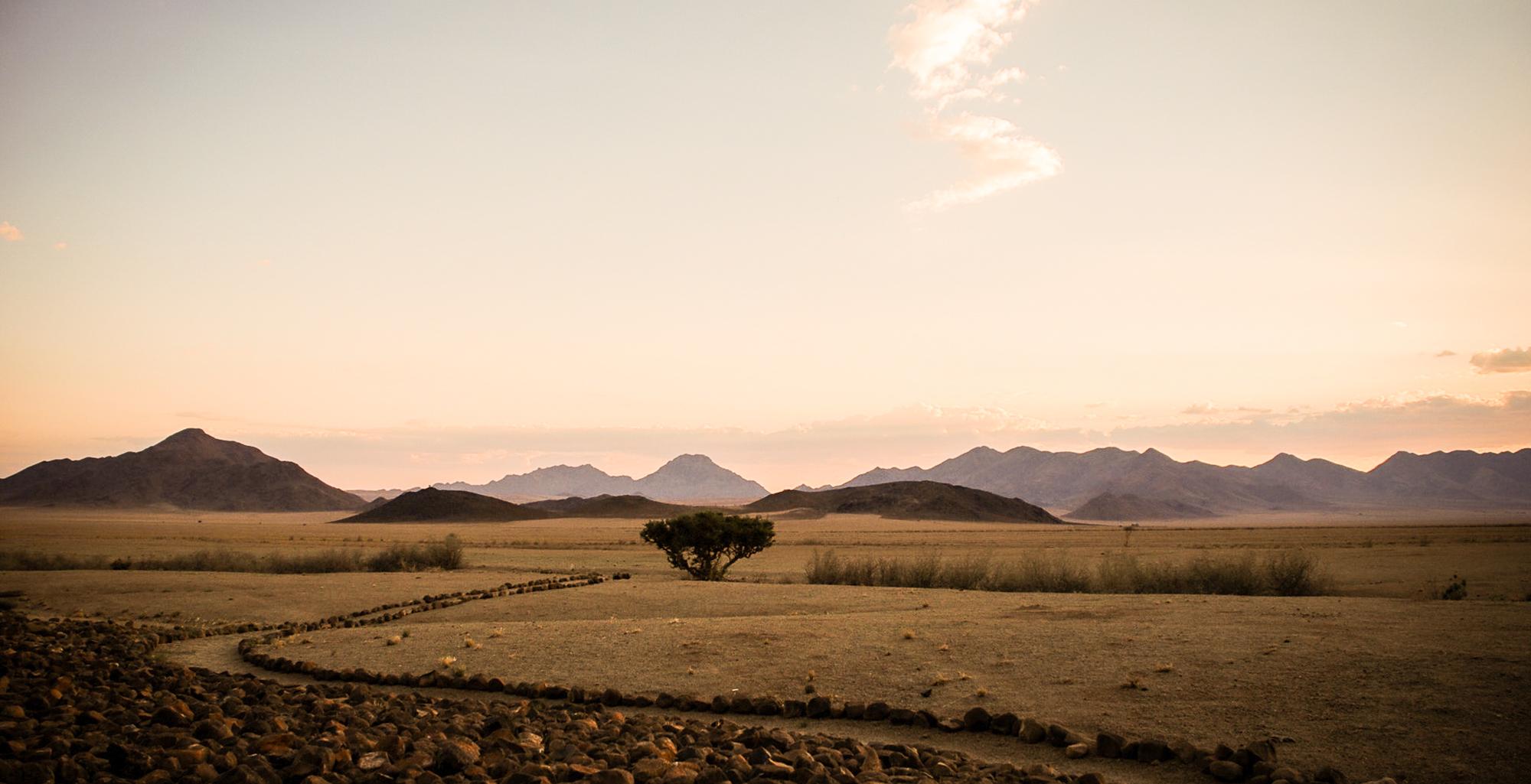 Namibia-NamibRand-Reserve-Landscape-Dusk
