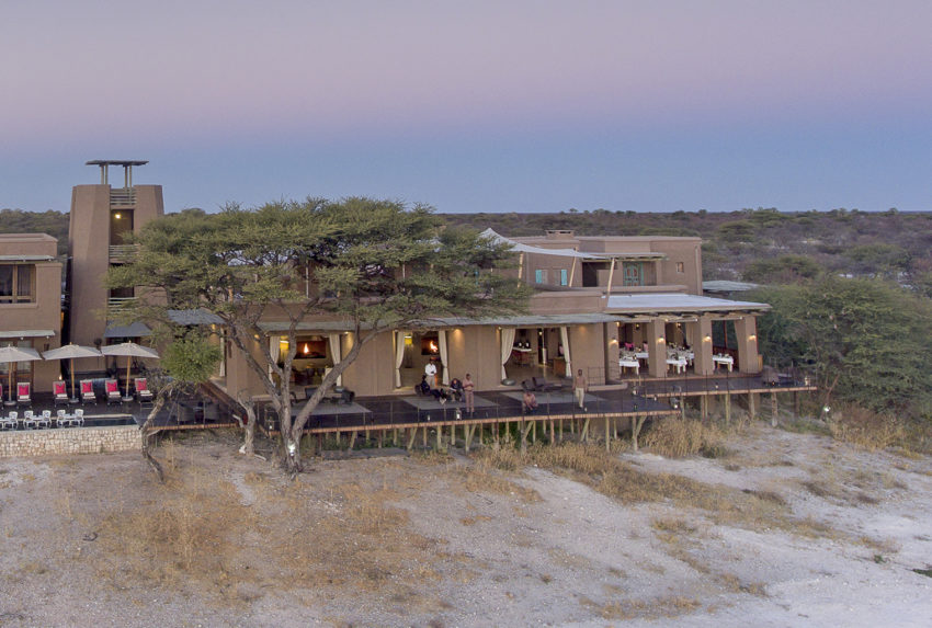Namibia-Onguma-Fort-Exterior