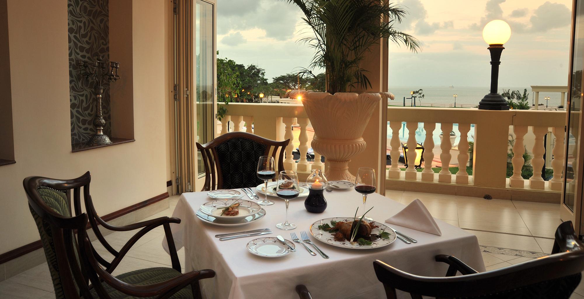 Mozambique-Maputo-Inhambane-Polona-Serena-Hotel-Dining