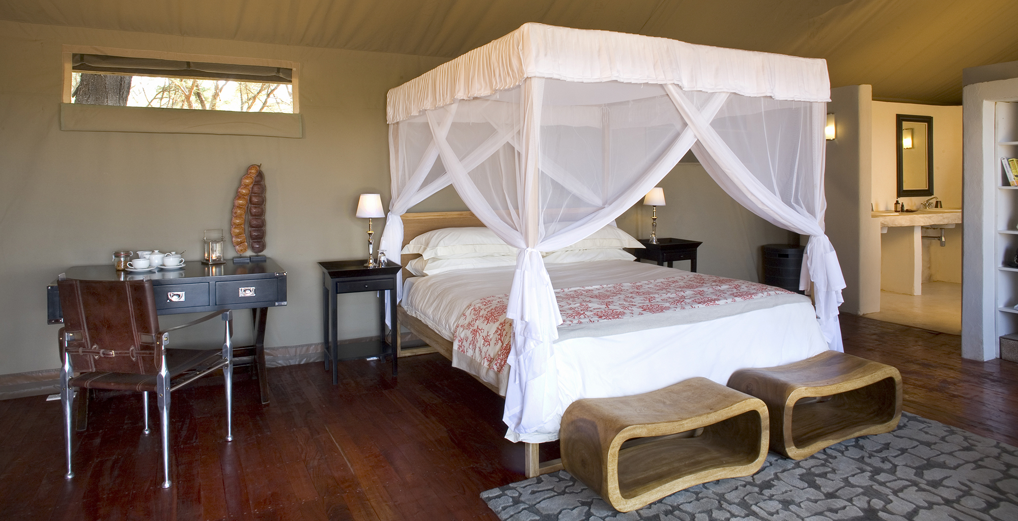 Zambia-Zambezi-Kulefu-Bedroom
