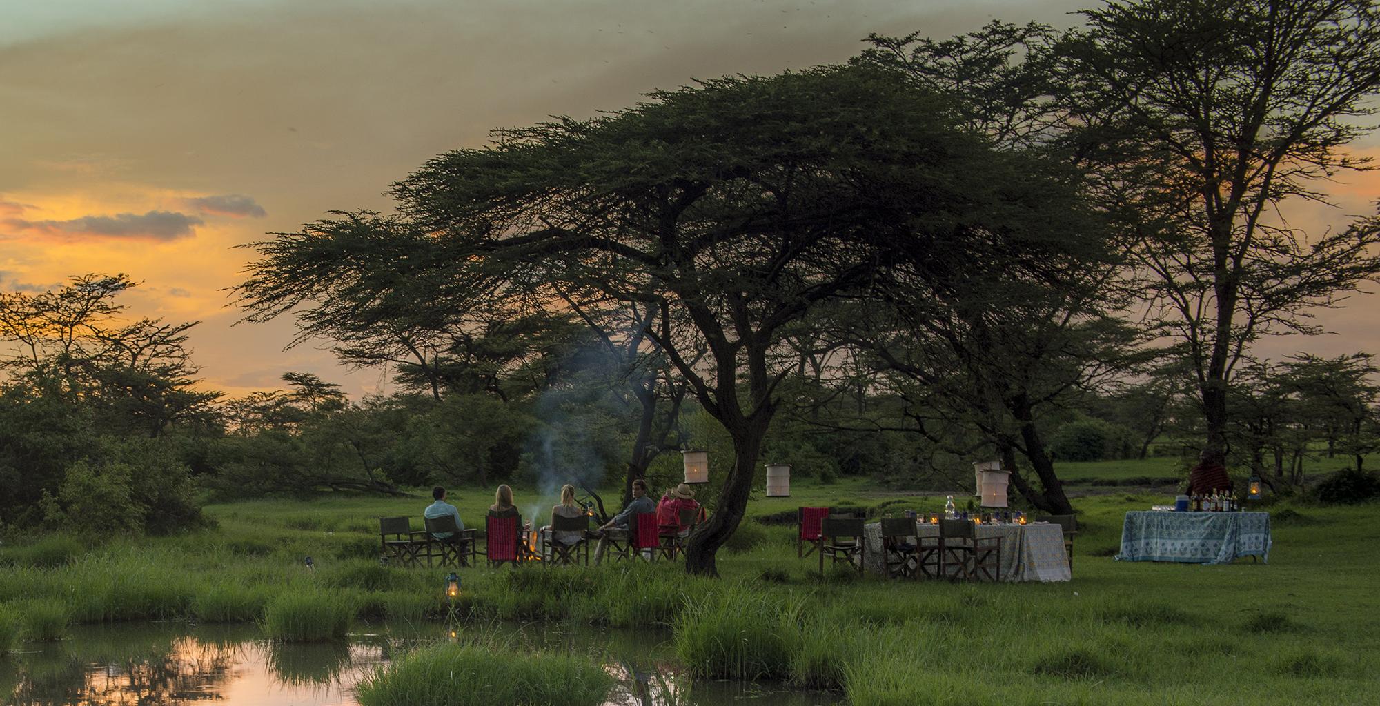 Kenya-Richard's-River-Camp-Campfire