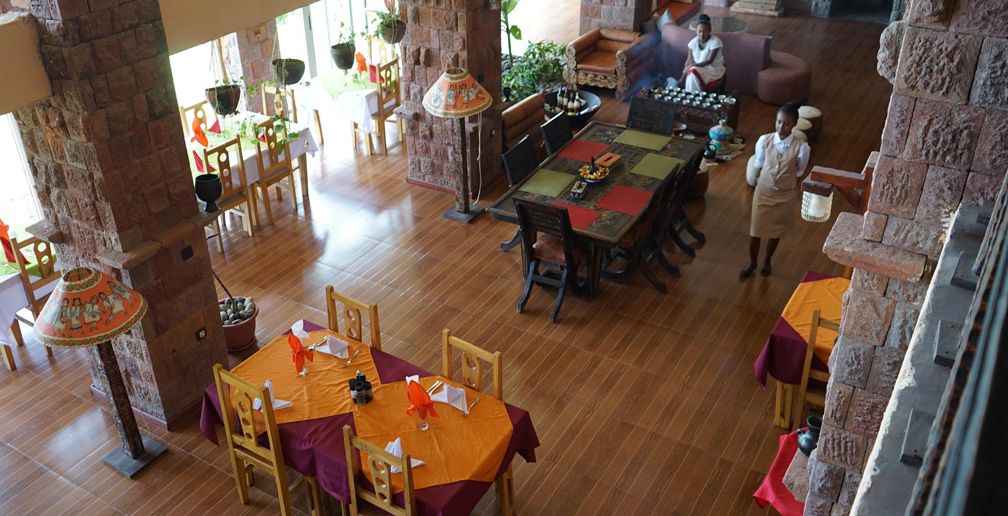 Ethiopia-Maribela-Hotel-Dining Area