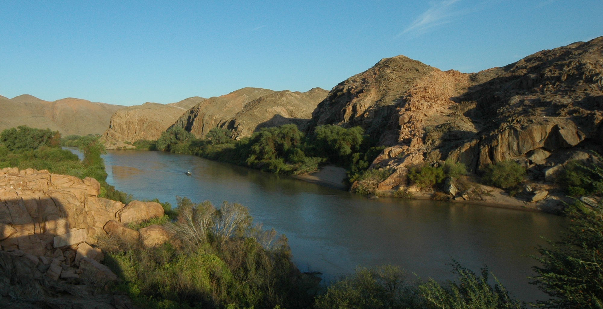 Namibia-Kunene-Camp-River