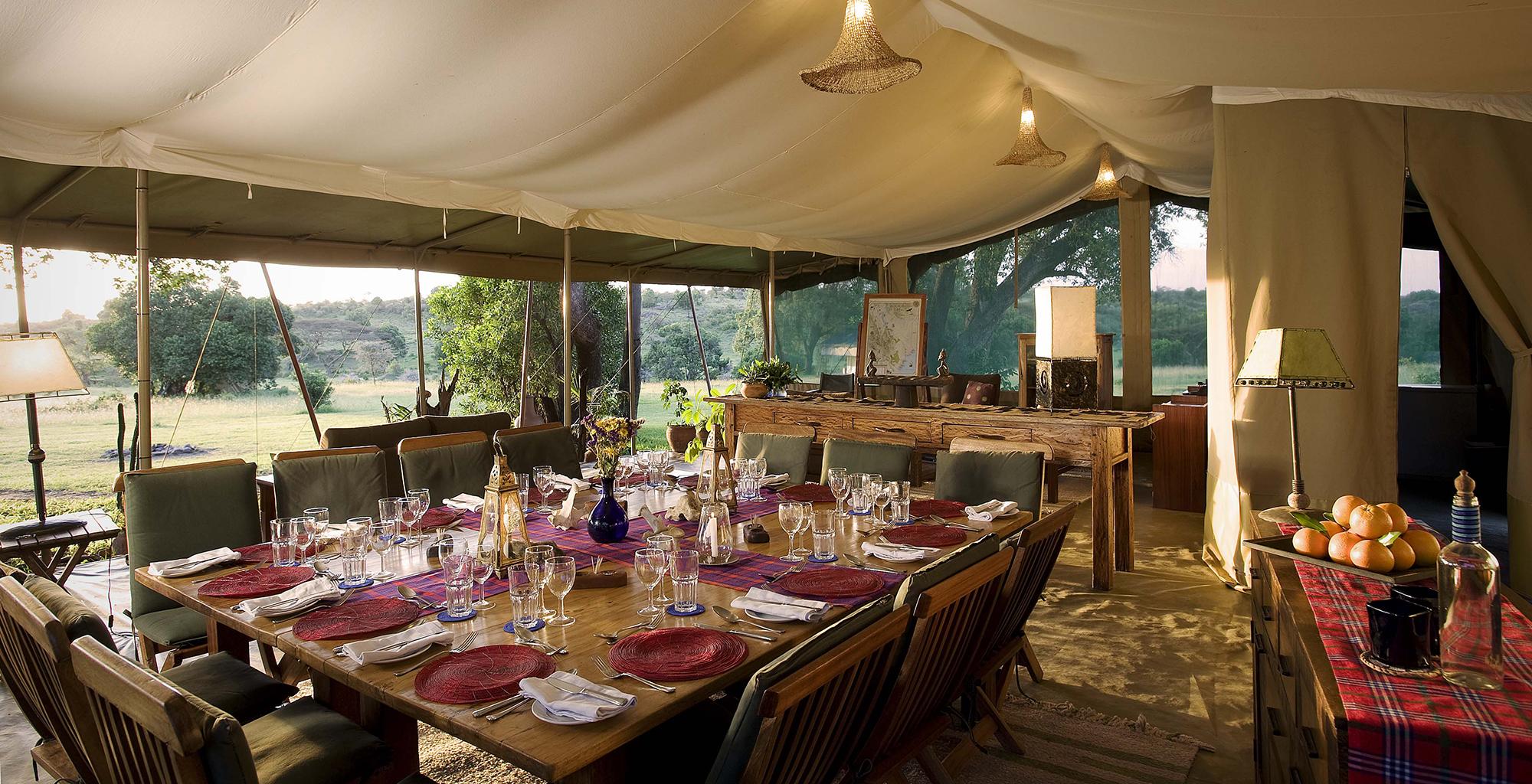 Kenya-Kicheche-Mara-Camp-Dining