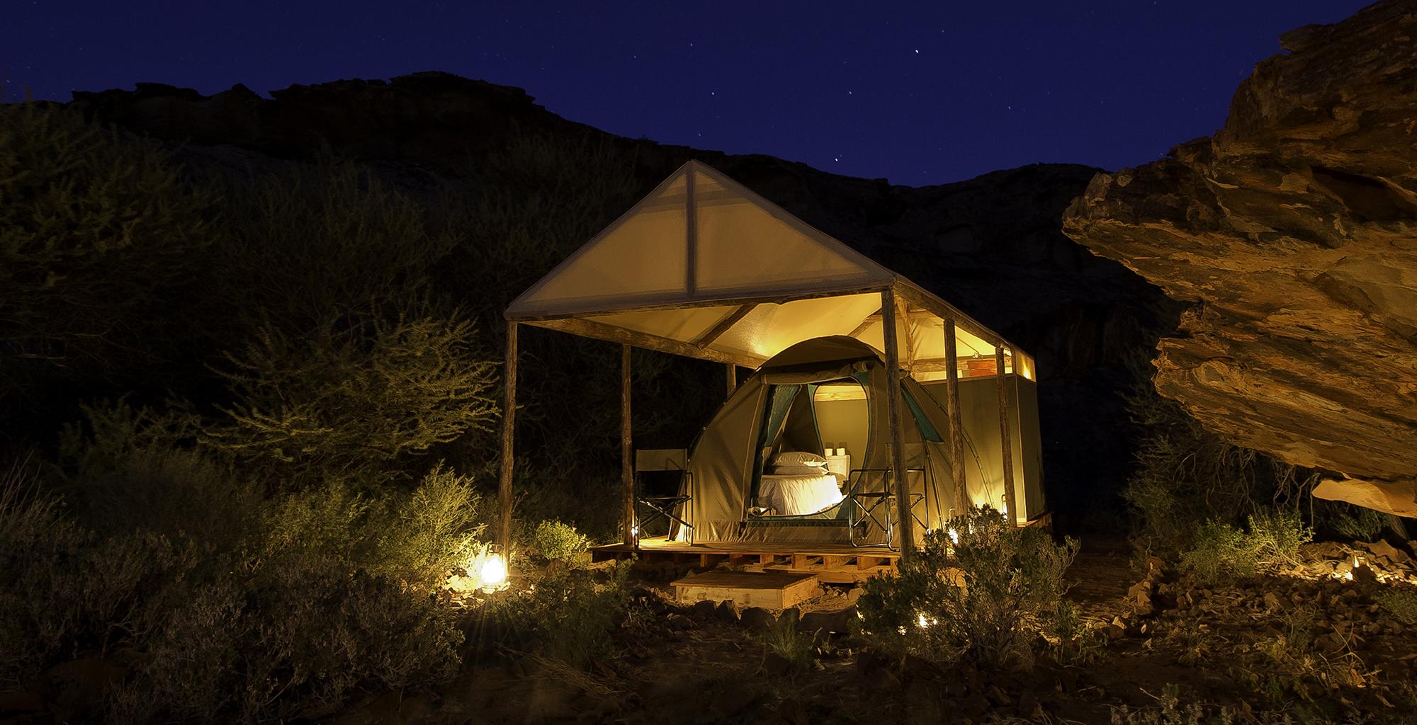Namibia-Damaraland-Adventurer-Exterior-Night