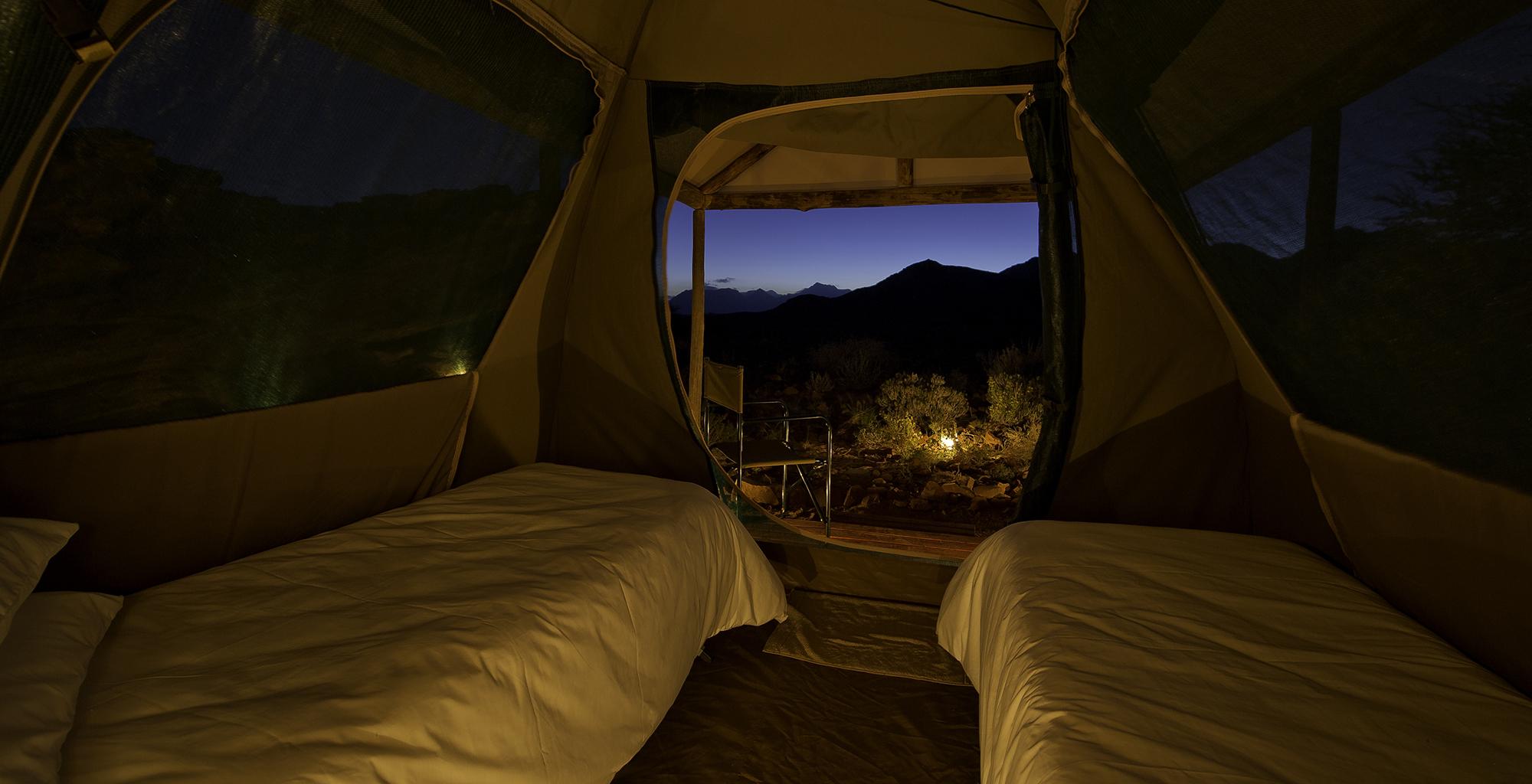 Namibia-Damaraland-Adventurer-Tent-View