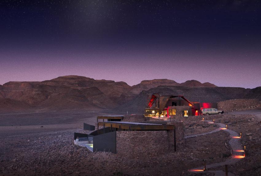 Namibia-Sossusvlei-Desert-Lodge-Exterior-Night