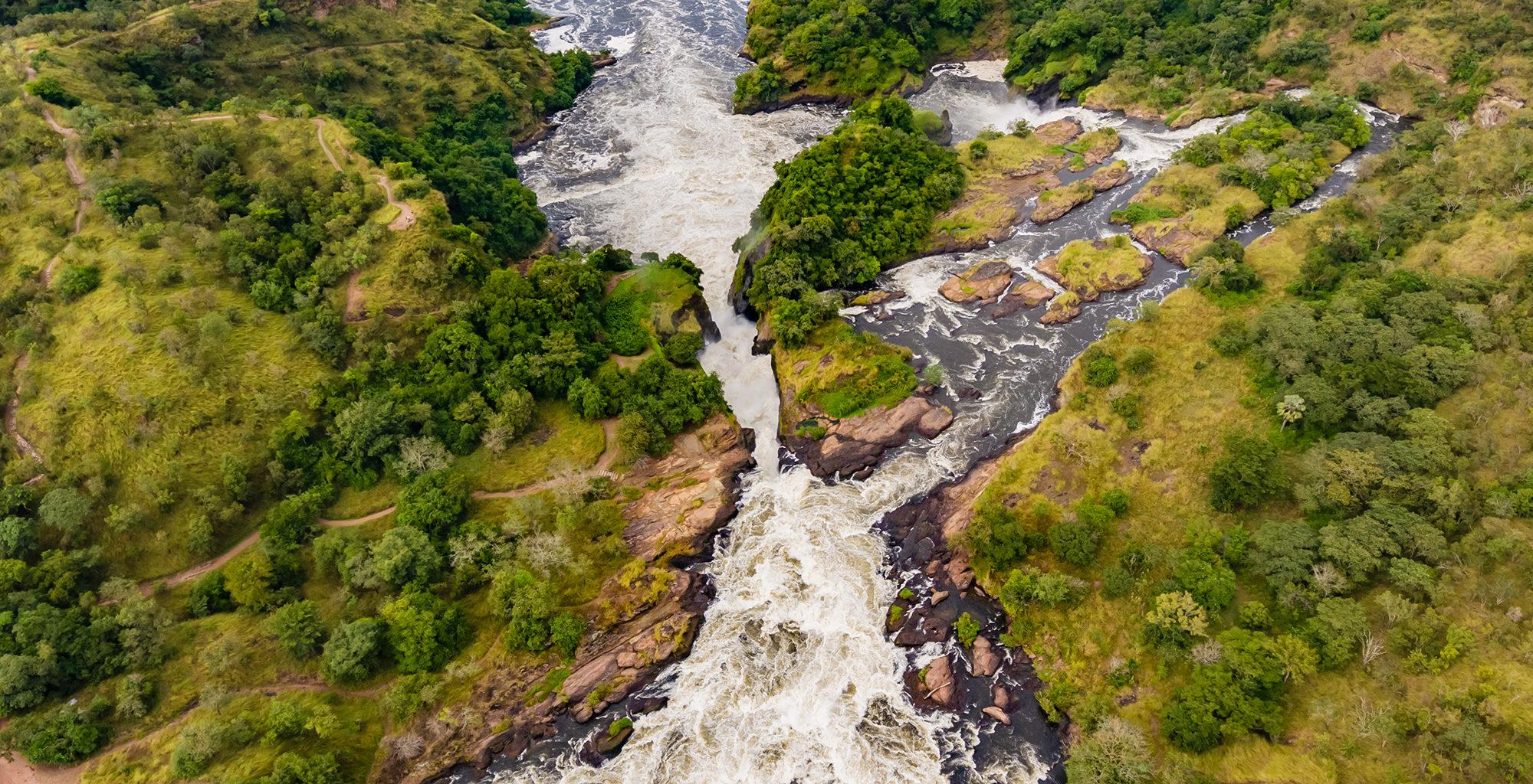 Uganda-Murchison-Falls-Aerial