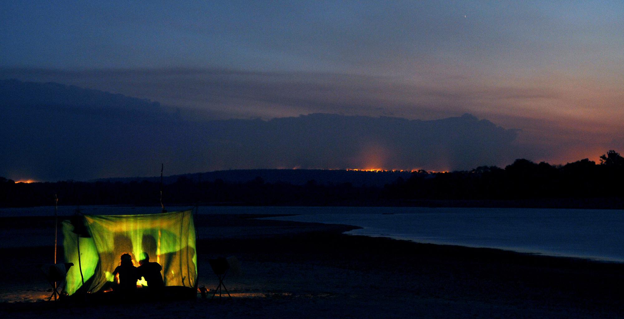 Tanzania-Selous-Walking-Safari-Fly-Camp-Night
