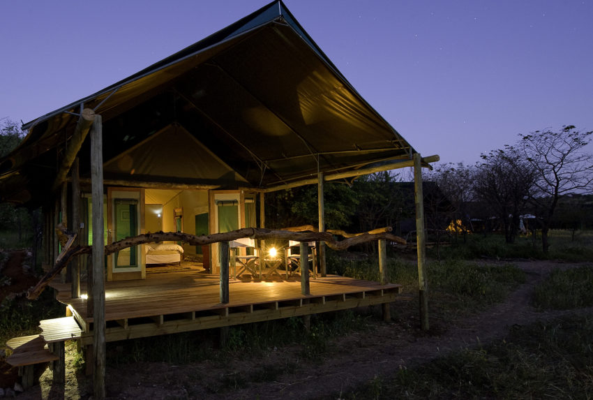 Namibia-Ongava-Tented-Camp-Exterior-Night