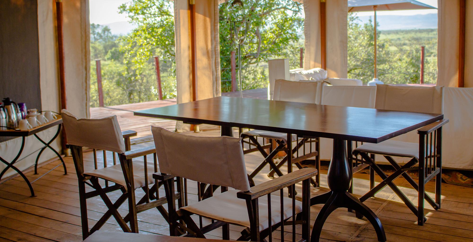 Kenya-Ol-Seki-Camp-Dining-Table